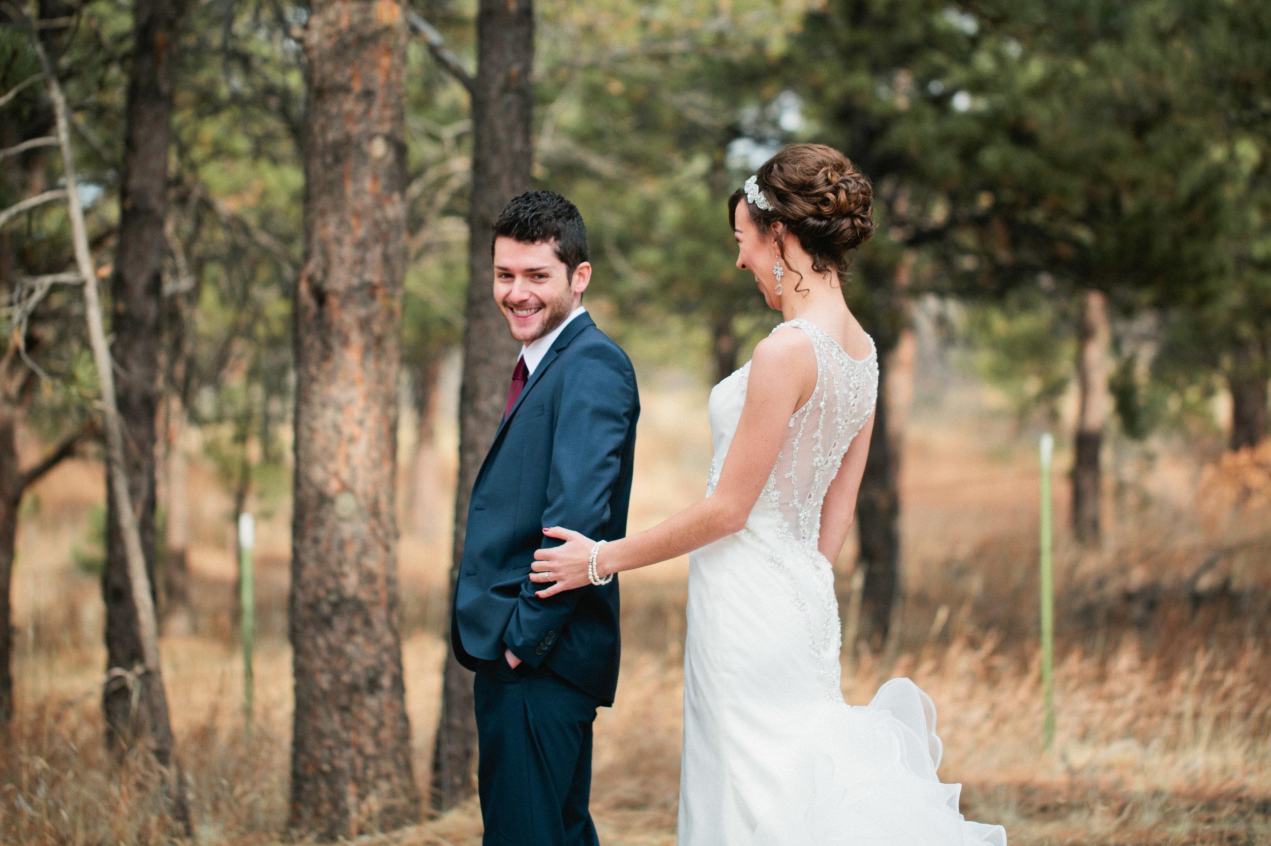 Professional wedding photographers in Colorado Springs
