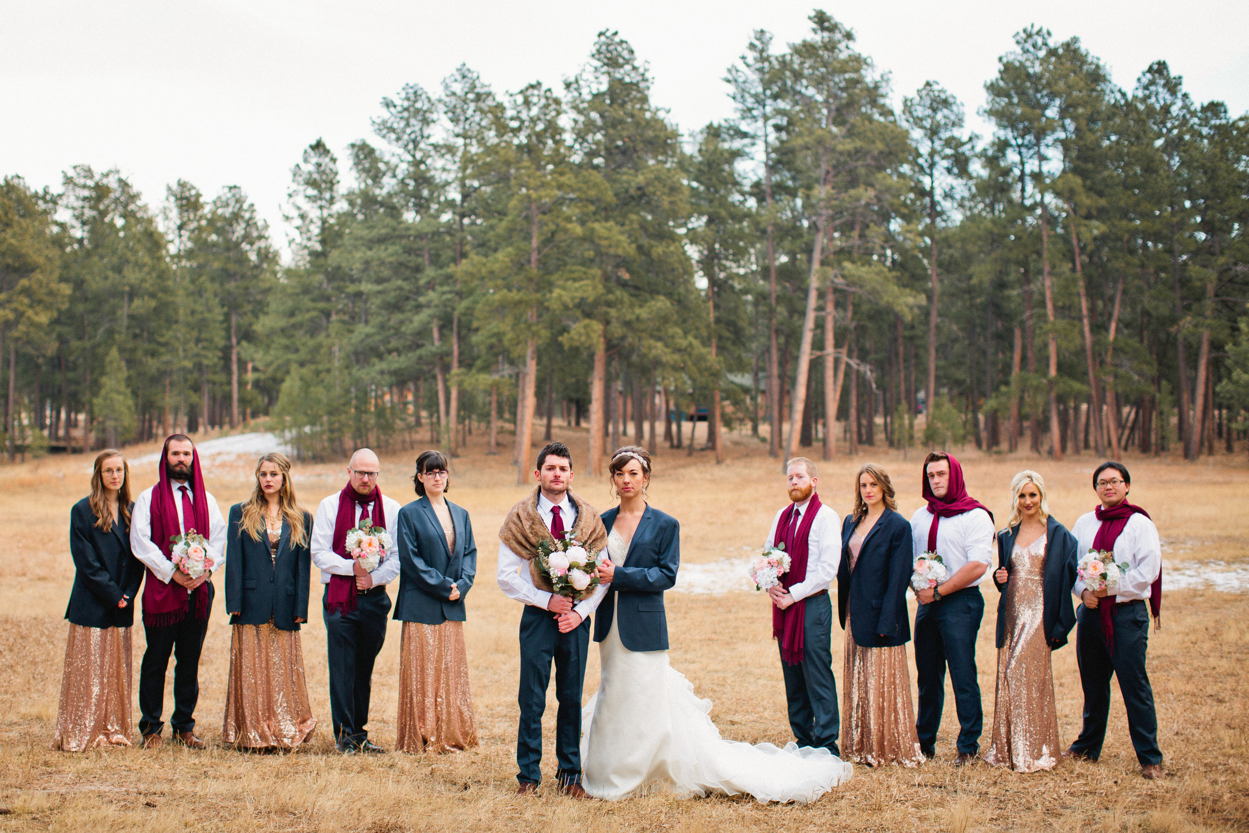 HILARIOUS bridal party photos! Amelia Renee is a professional photographer living in Des Moines and who also travels for weddings. She loves coffee shops (like Horizon Line Coffee) and french baked good from La Mie, and will hold any baby in sight.