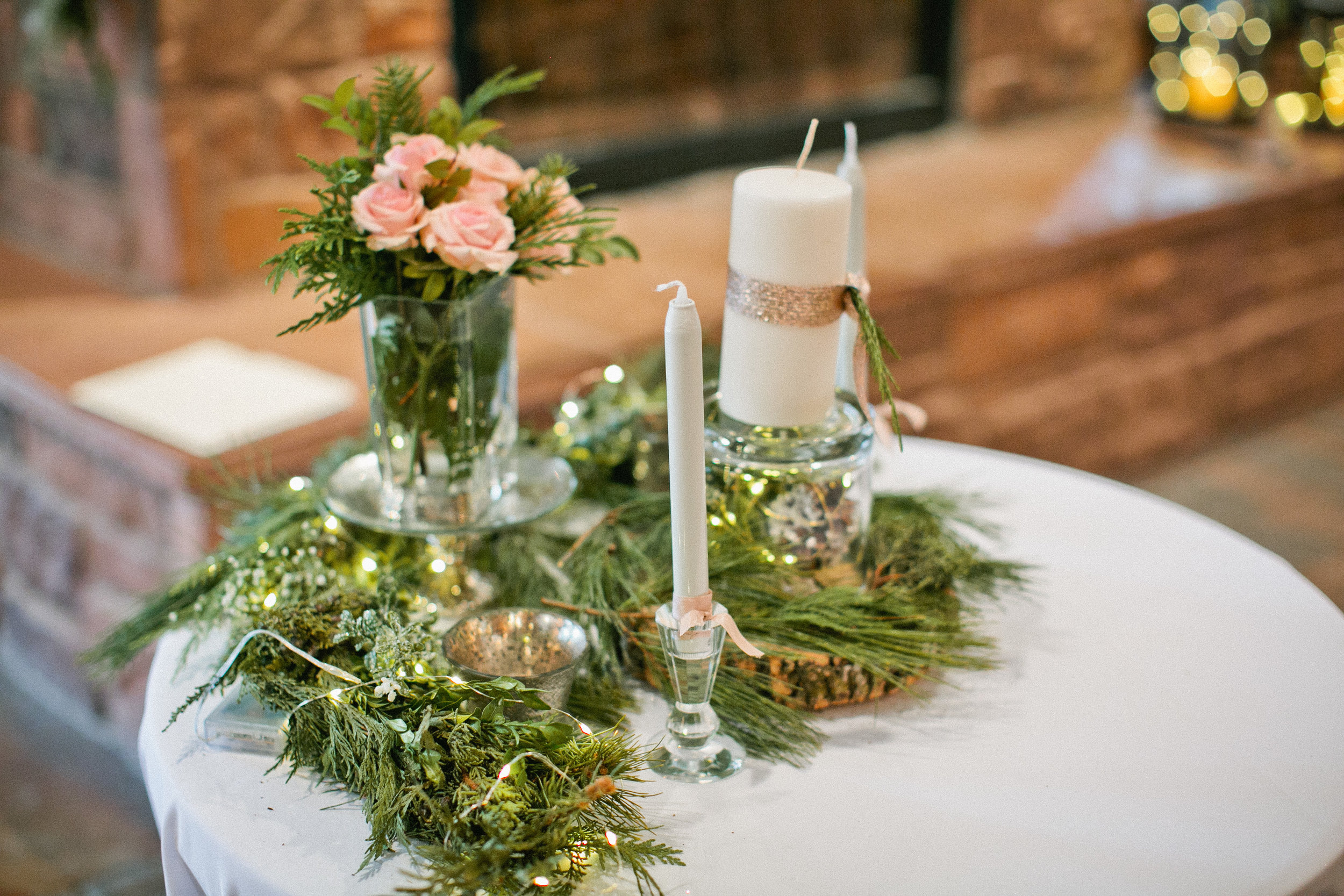 wedding in Inglis Hall in La Foret