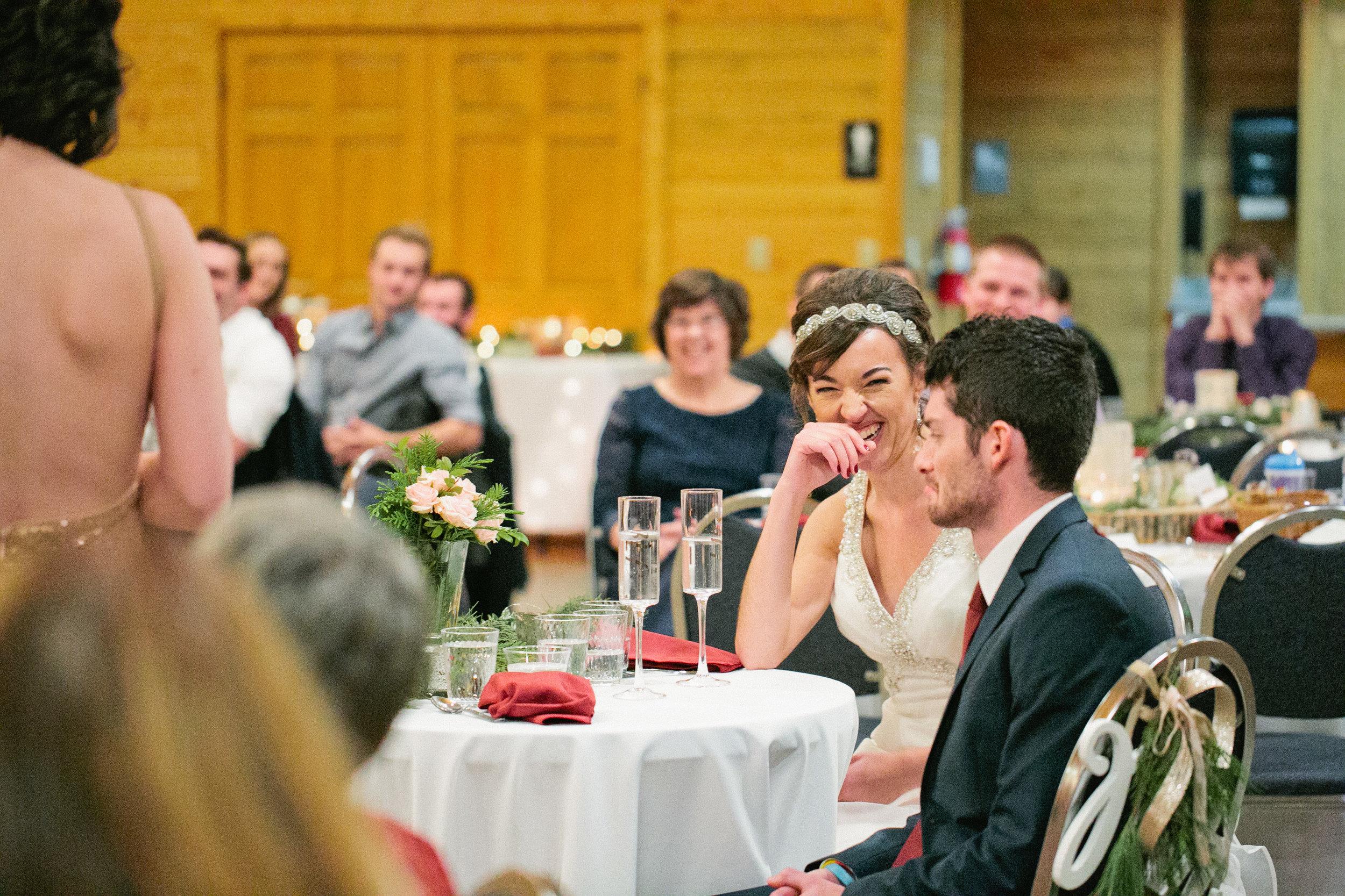 wedding toast photos