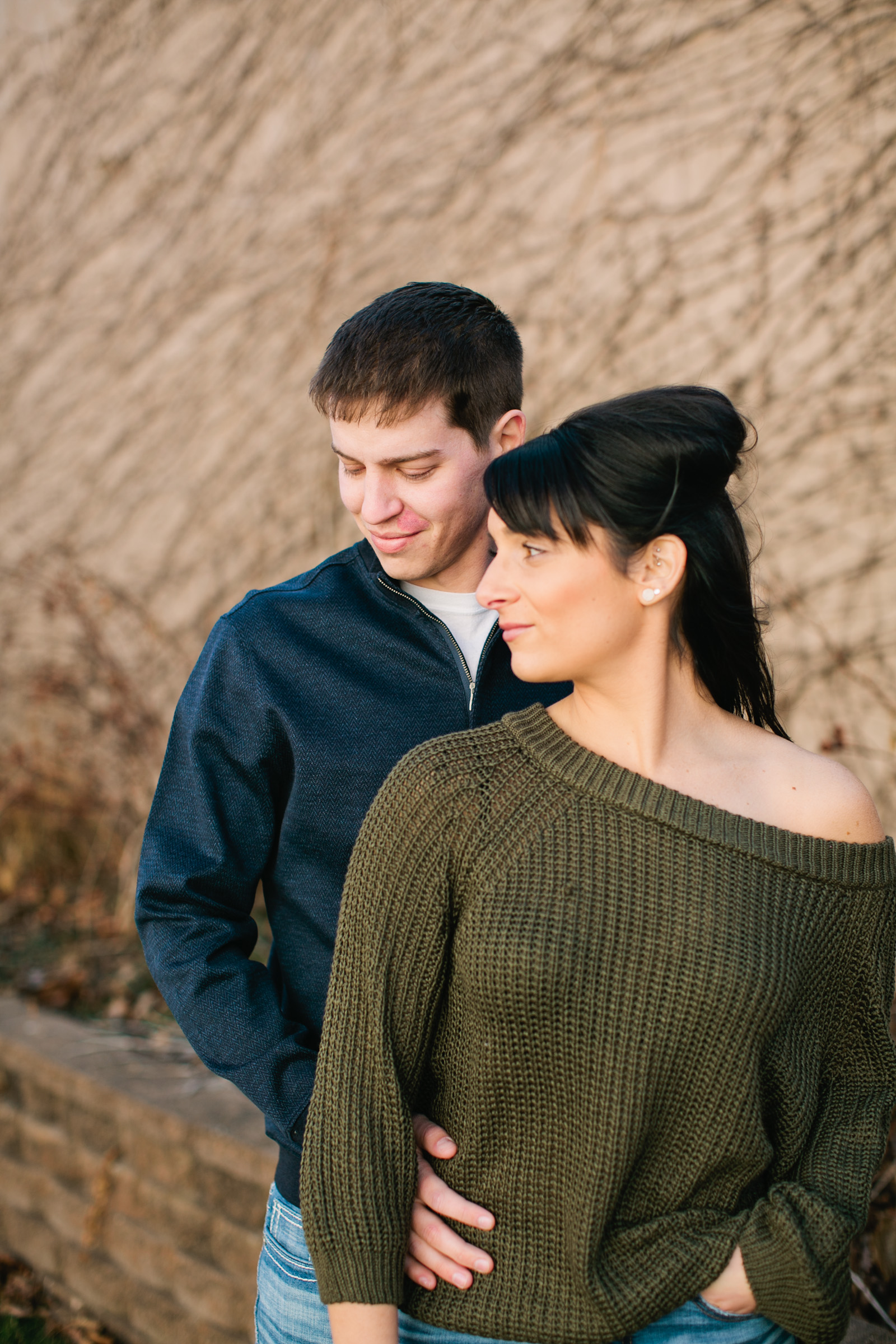 engagement photos in Story City Iowa