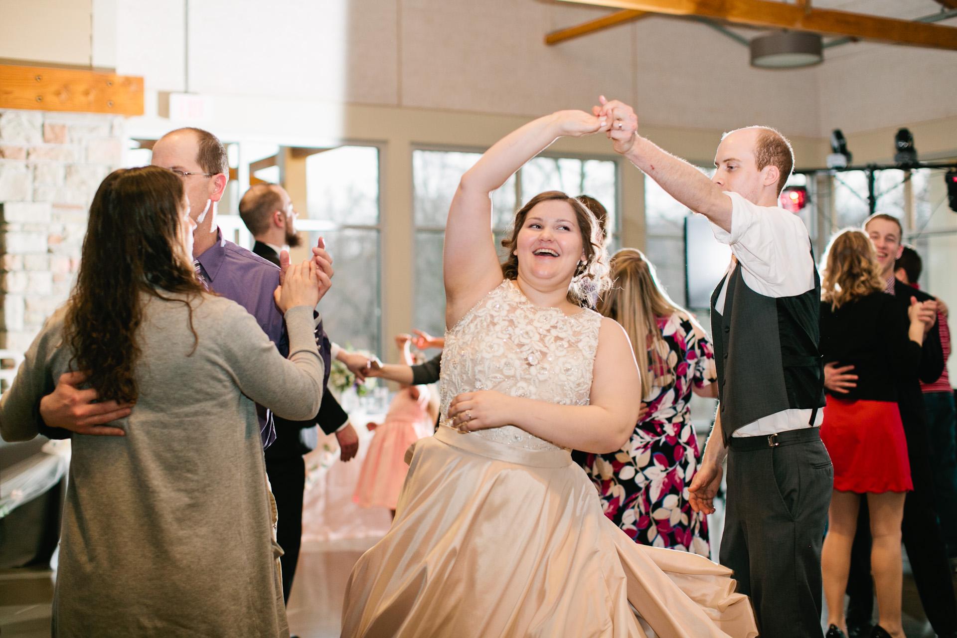 ushers ferry wedding reception