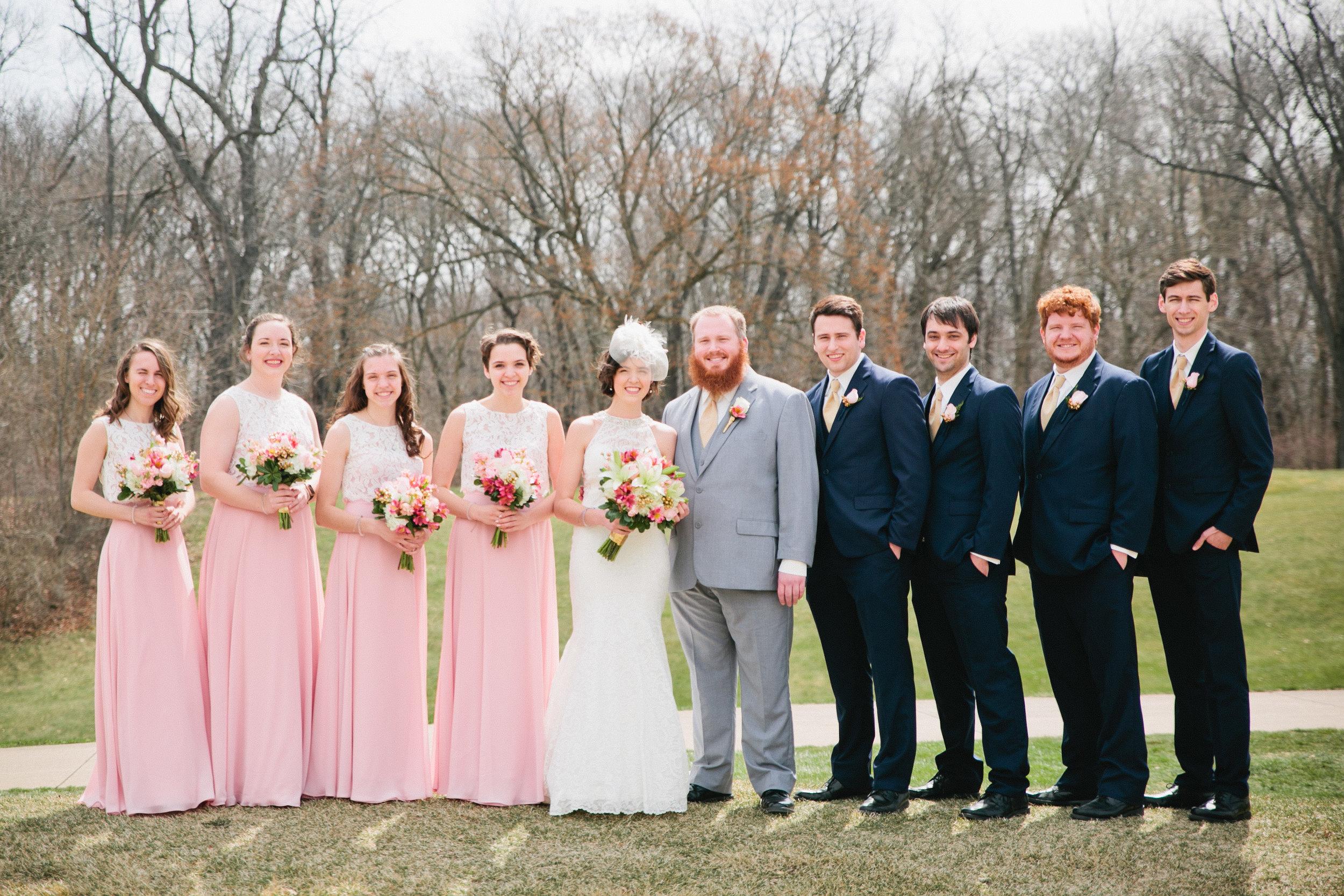 Cedar Falls wedding bridal portrait