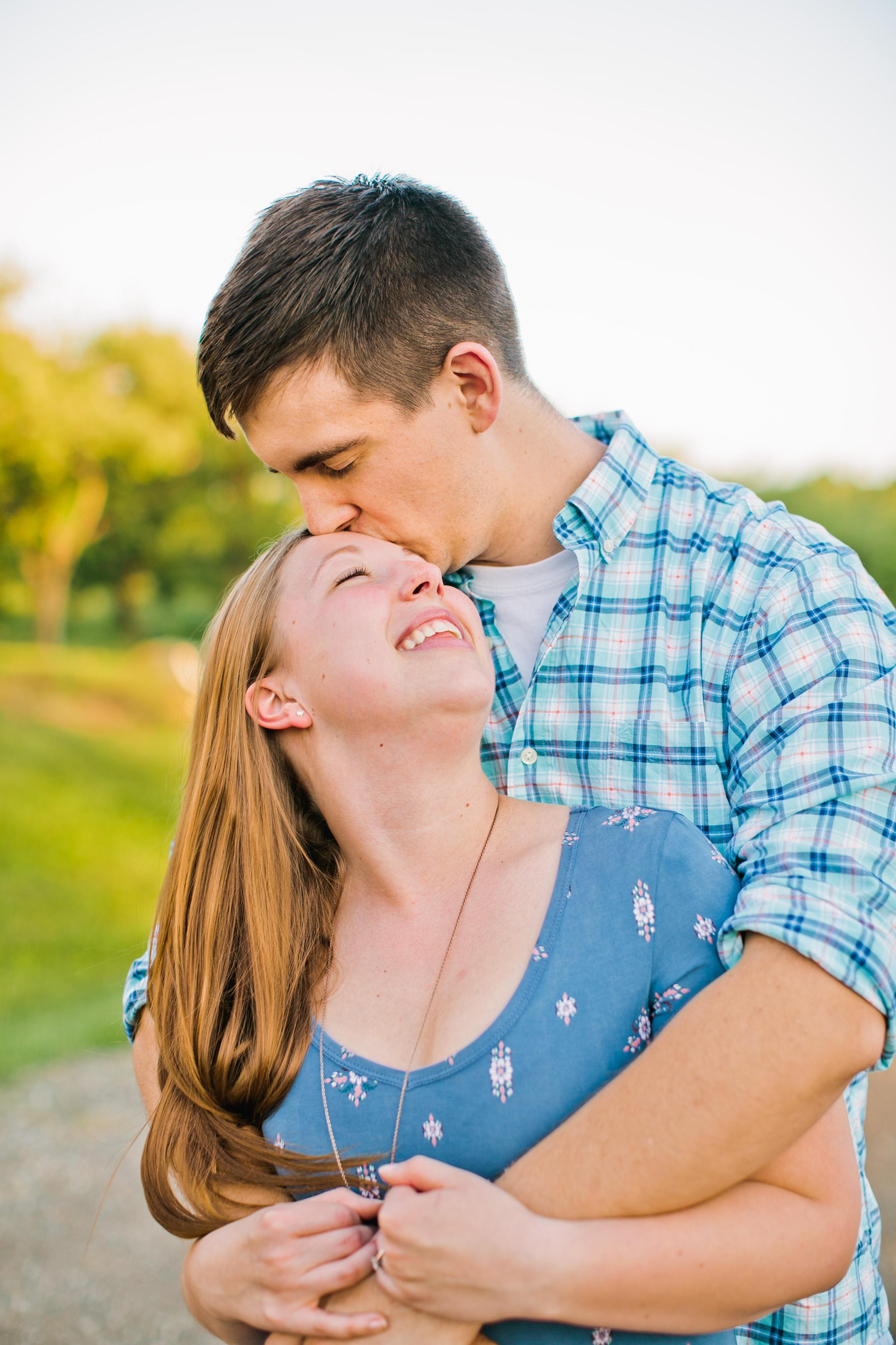 Iowa City engagement and wedding photographers