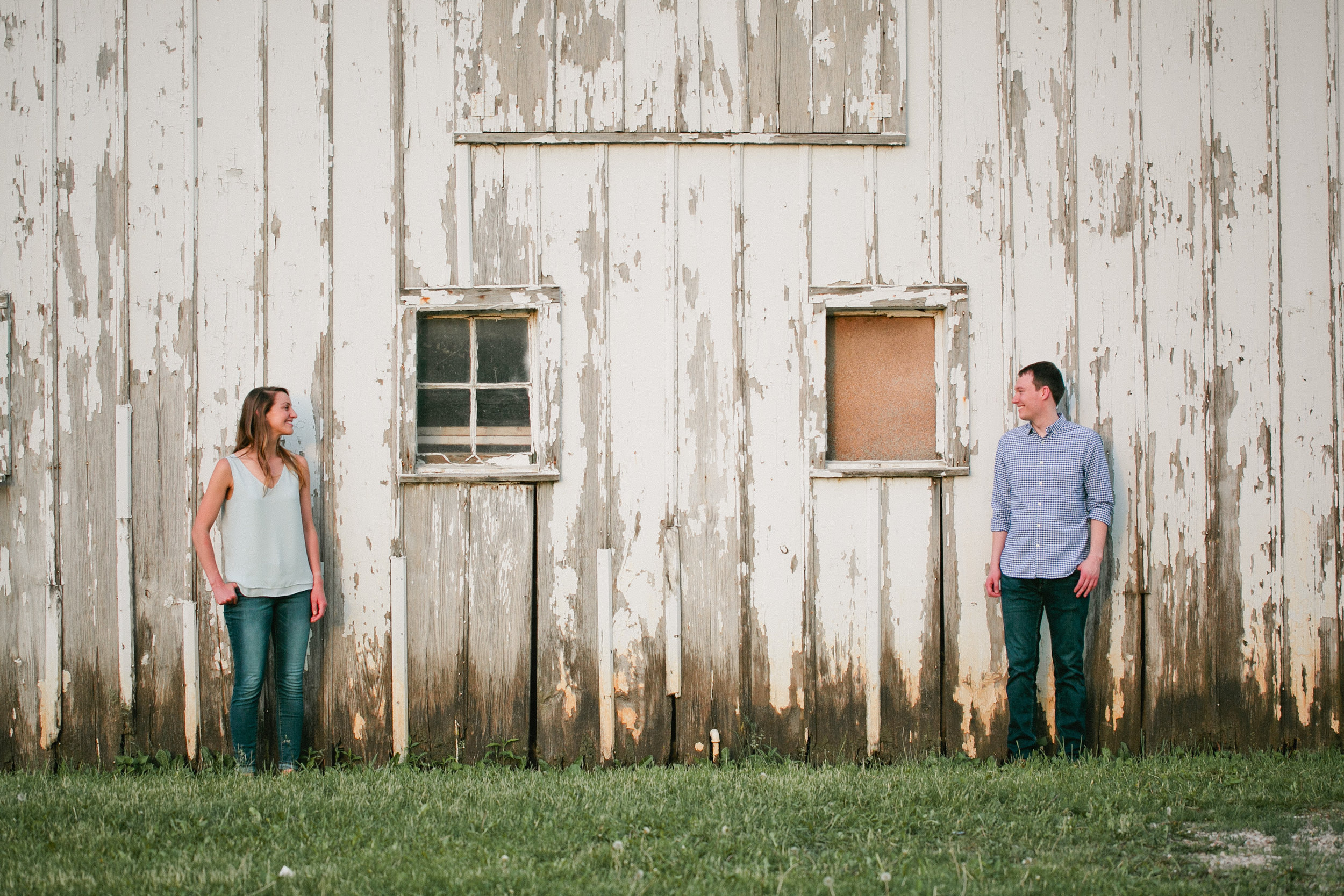 Water Works Des Moines morning engagement session