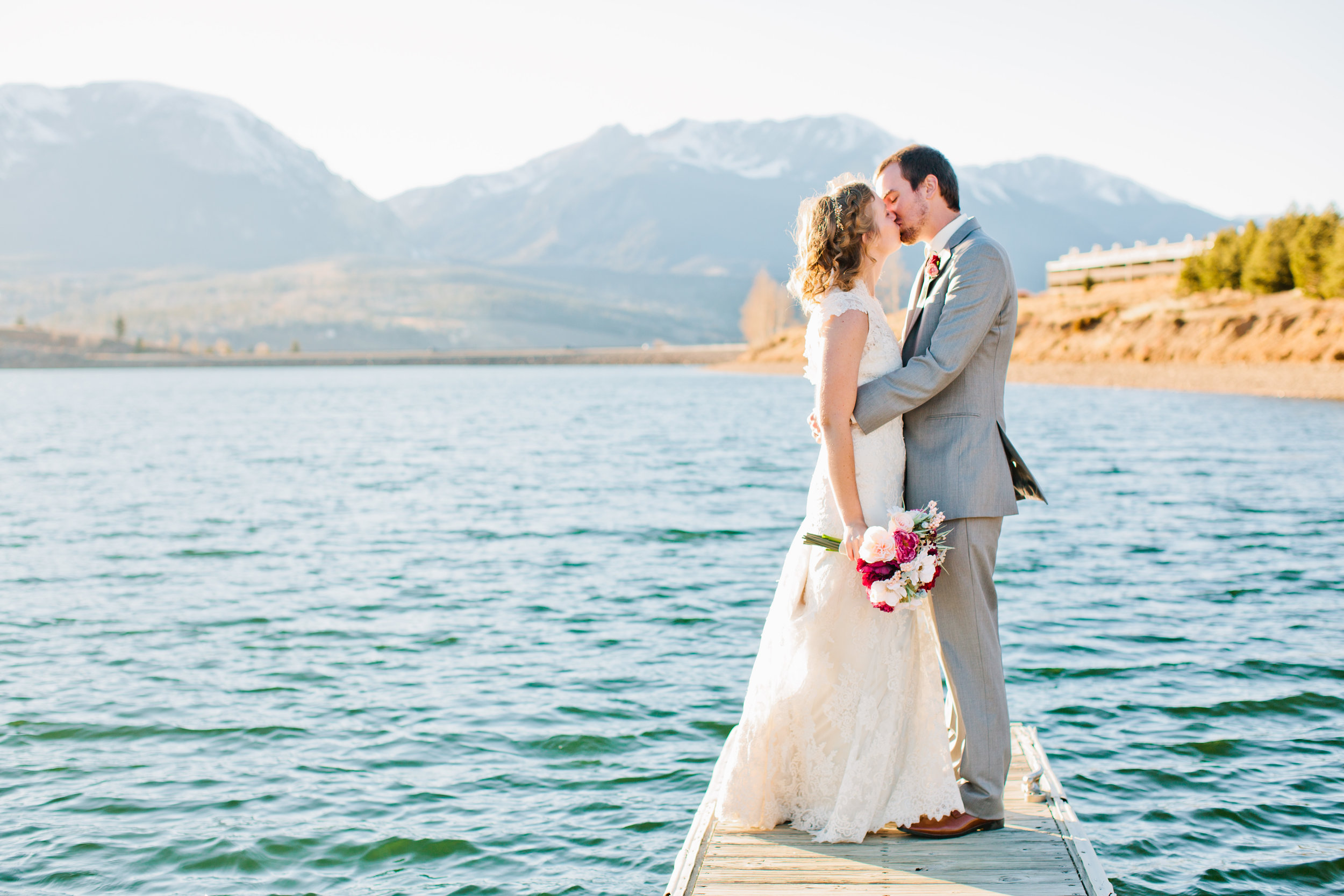 This wedding day in Colorado was incredible! Mountain and Lakeside weddings are the best, in my book. I can't wait to photograph my 3rd Colorado wedding this summer!