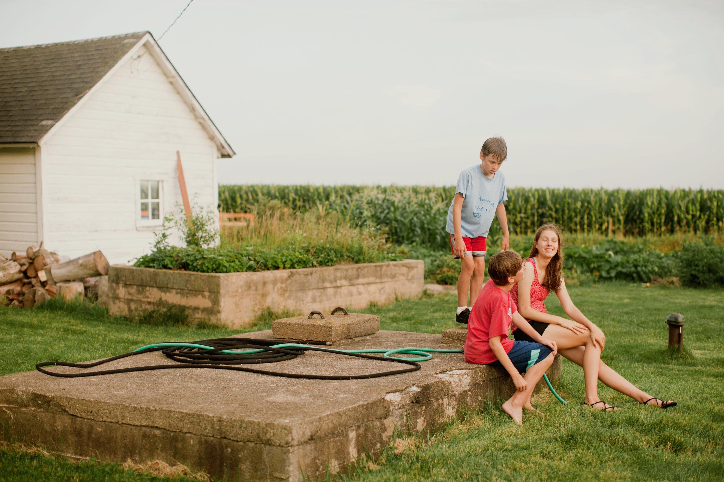 Cedar Falls IA family photography