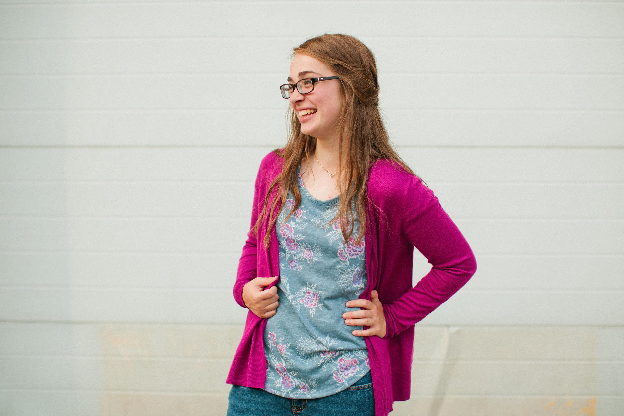 Johnston High School senior photos Des Moines Iowa Amelia Renee