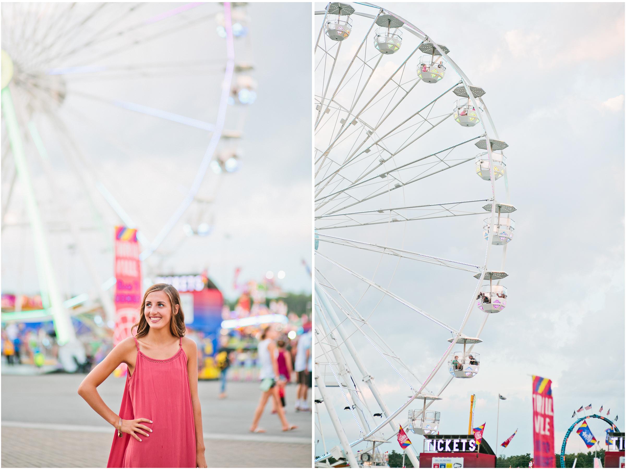 Amelia Renee Photography senior photos state fair
