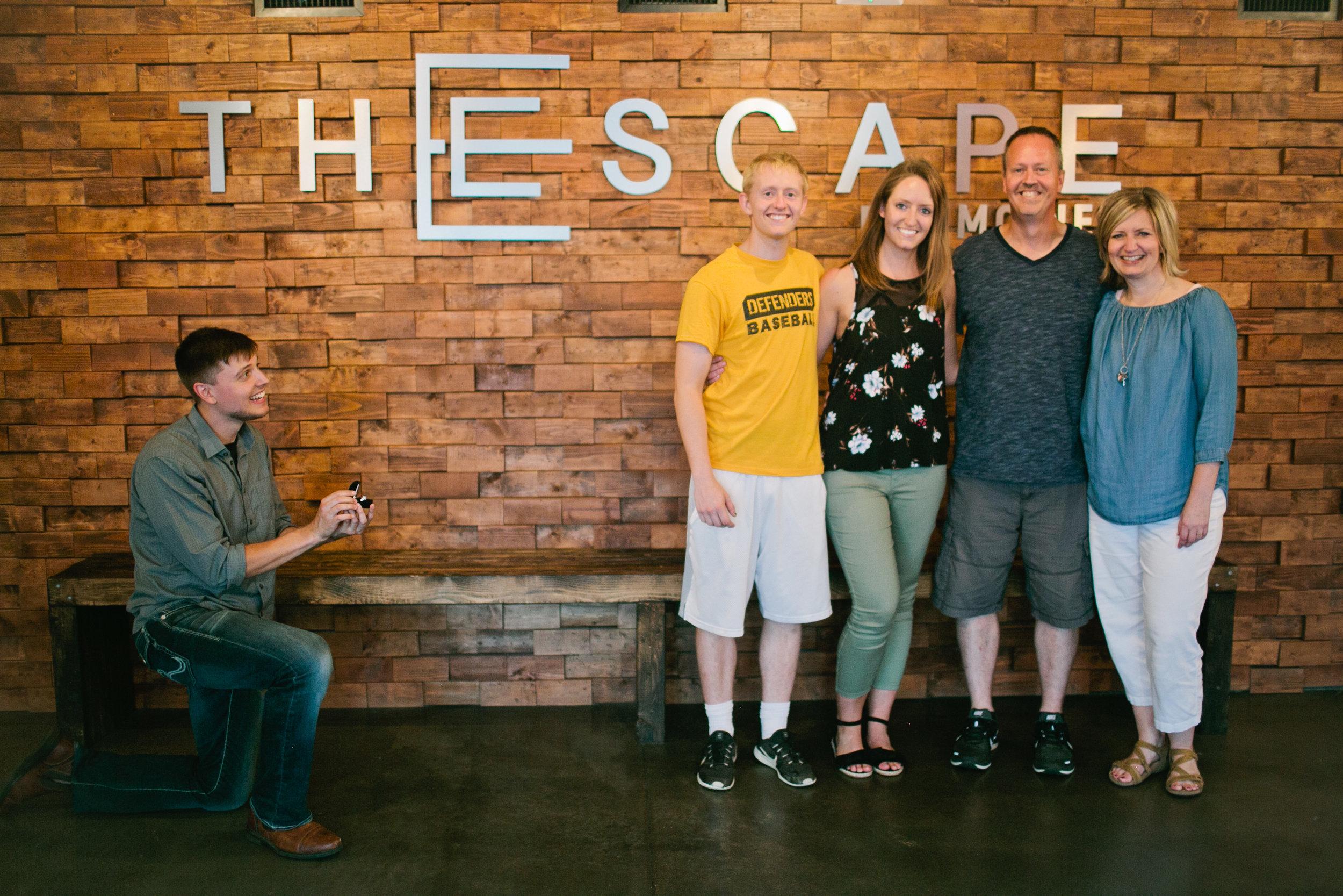 Iowa Proposal Photographers in Des Moines and Cedar Falls Iowa