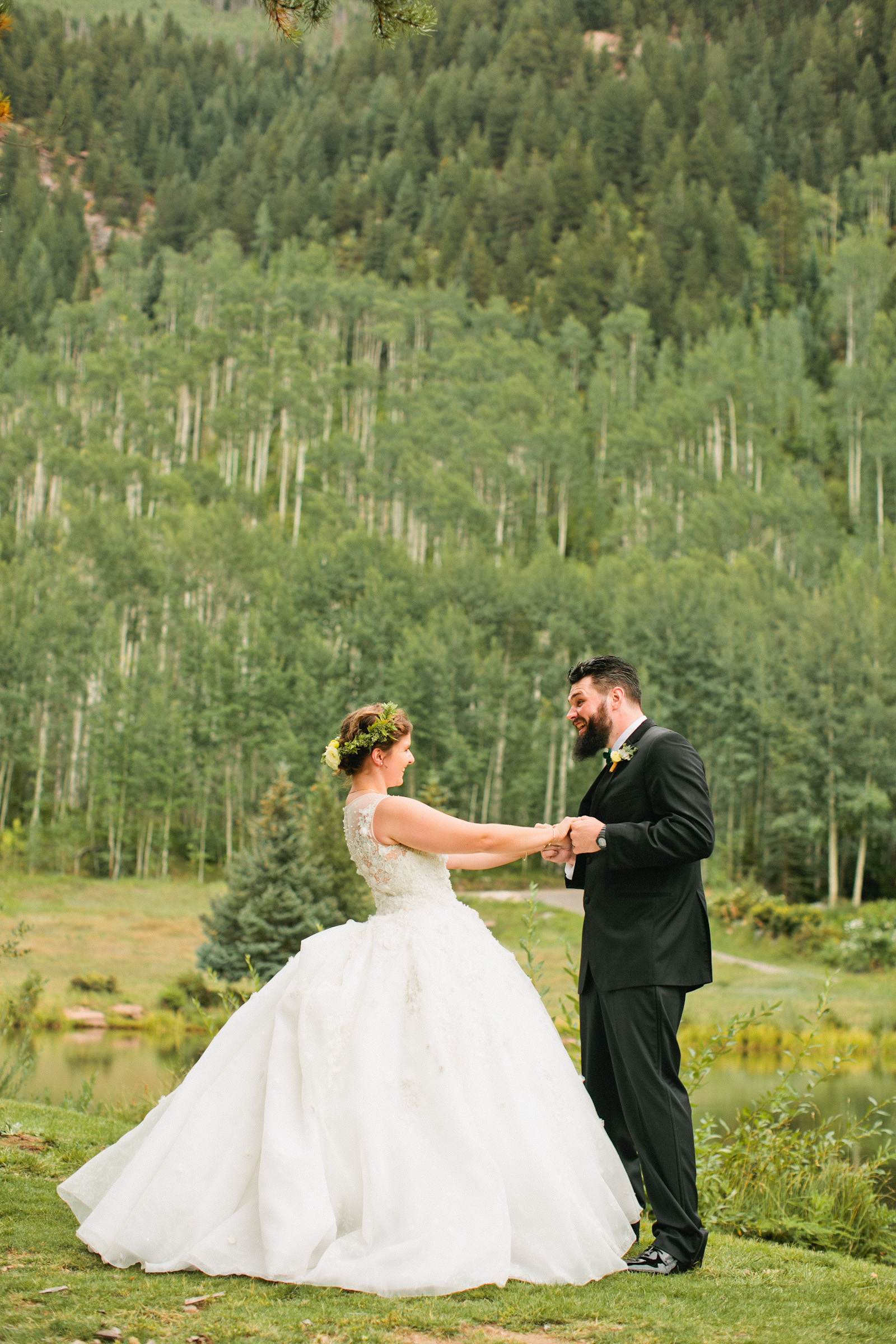 Amelia Sutton a fine art  wedding photographer specializing in  Colorado mountaintop weddings and destination weddings around the globe