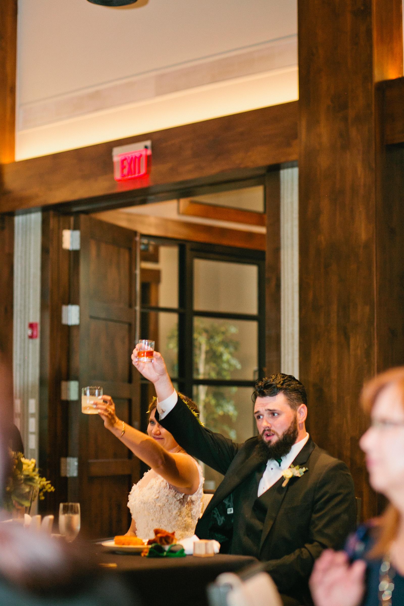 bride_groom_toasting_reception