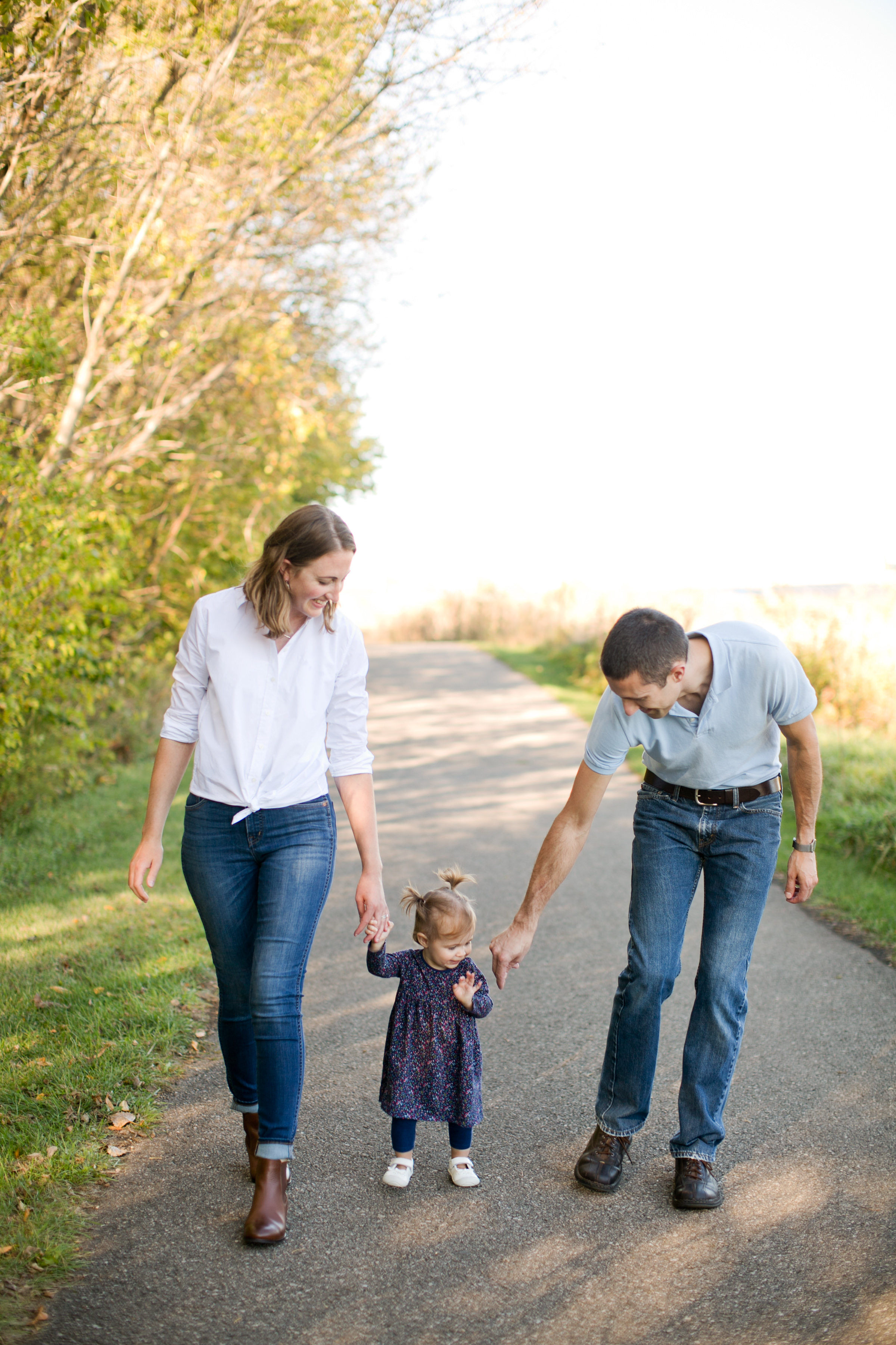 Des Moines family photographers fall pictures