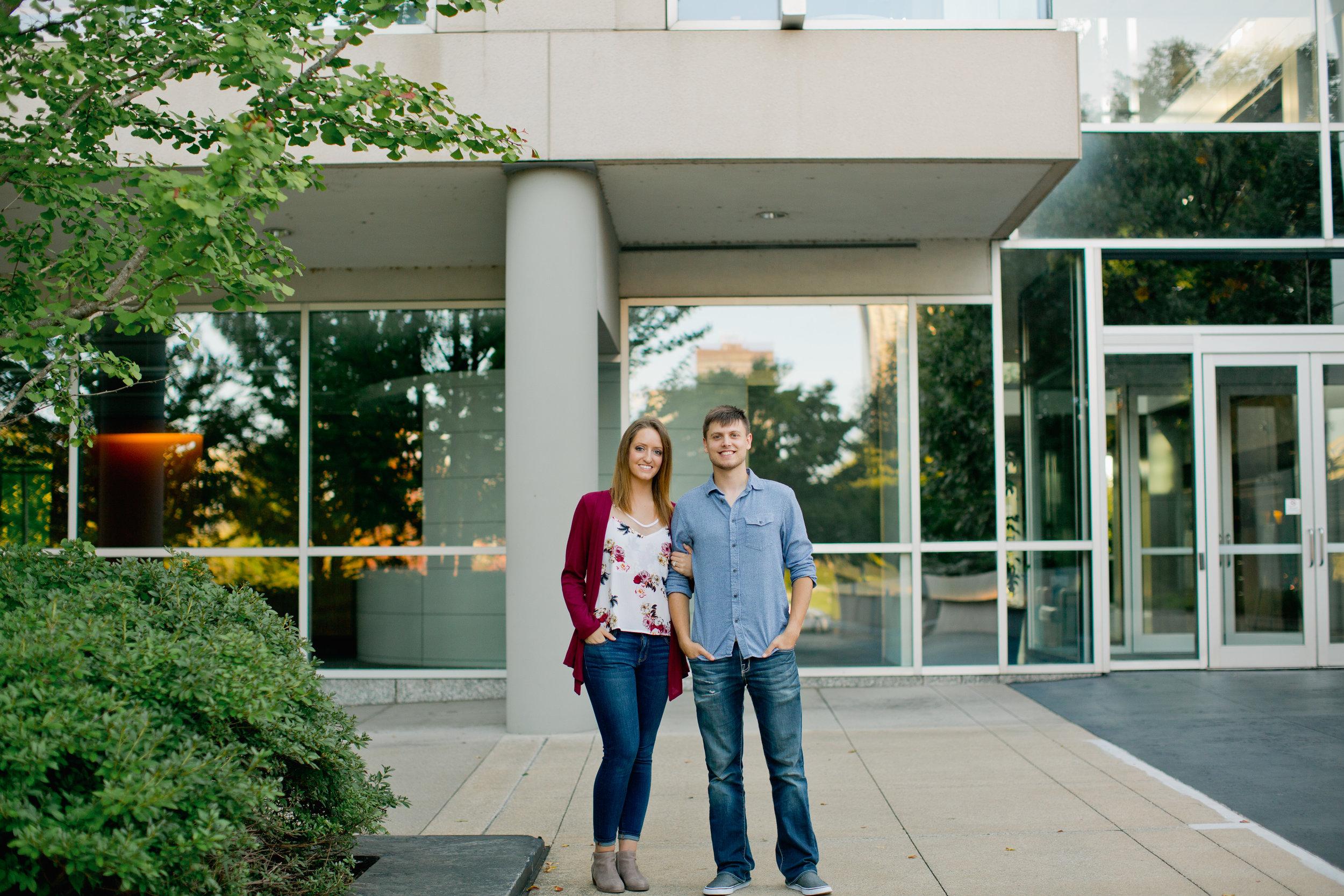 Meredith Corporation Des Moines engagement photographs