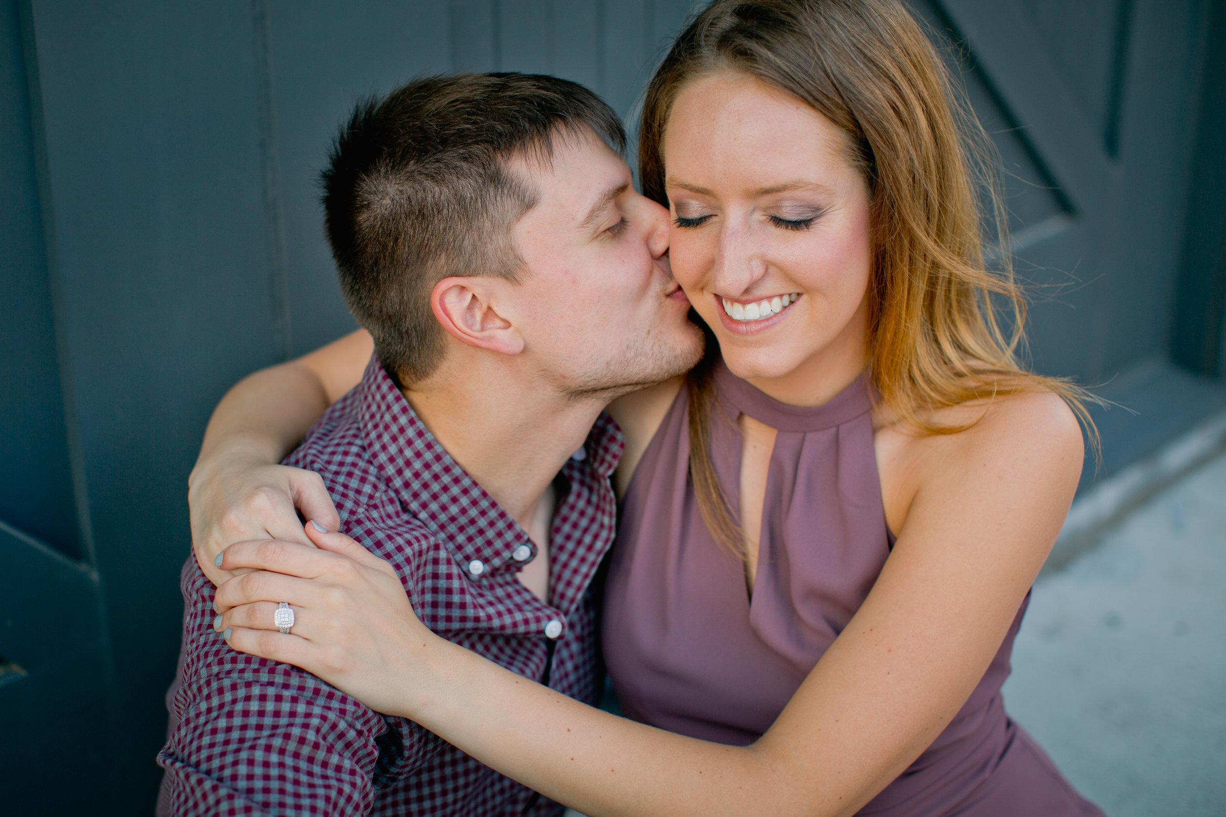 cute romantic natural adventurous engagement photographers