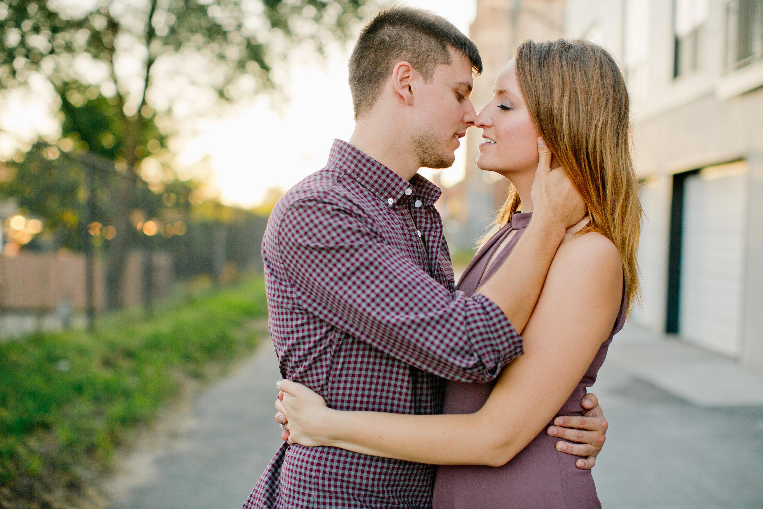 downtown cedar falls engagement and wedding photographers Amelia Renee