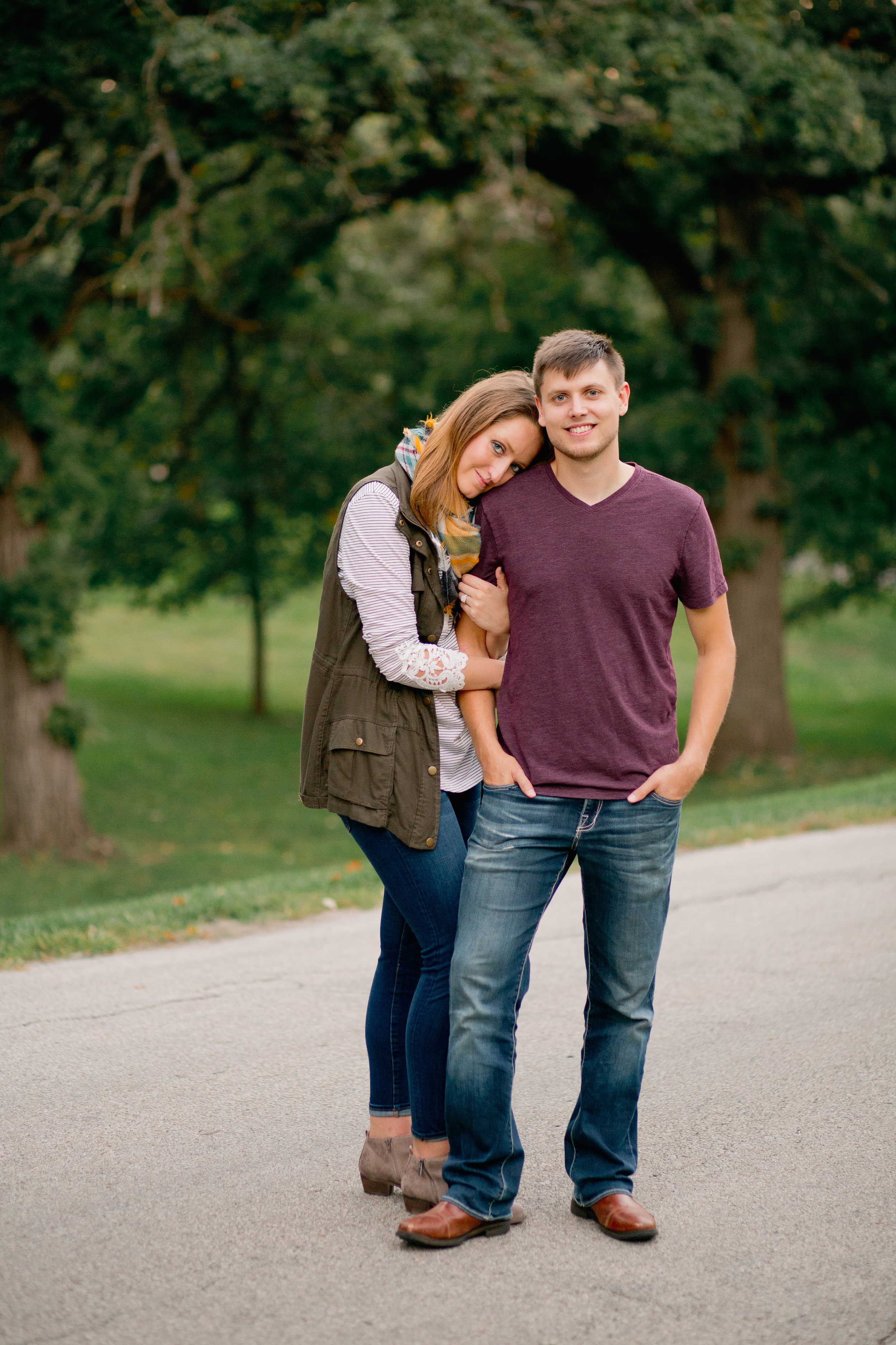 hip and unique wedding photographers in Des Moines
