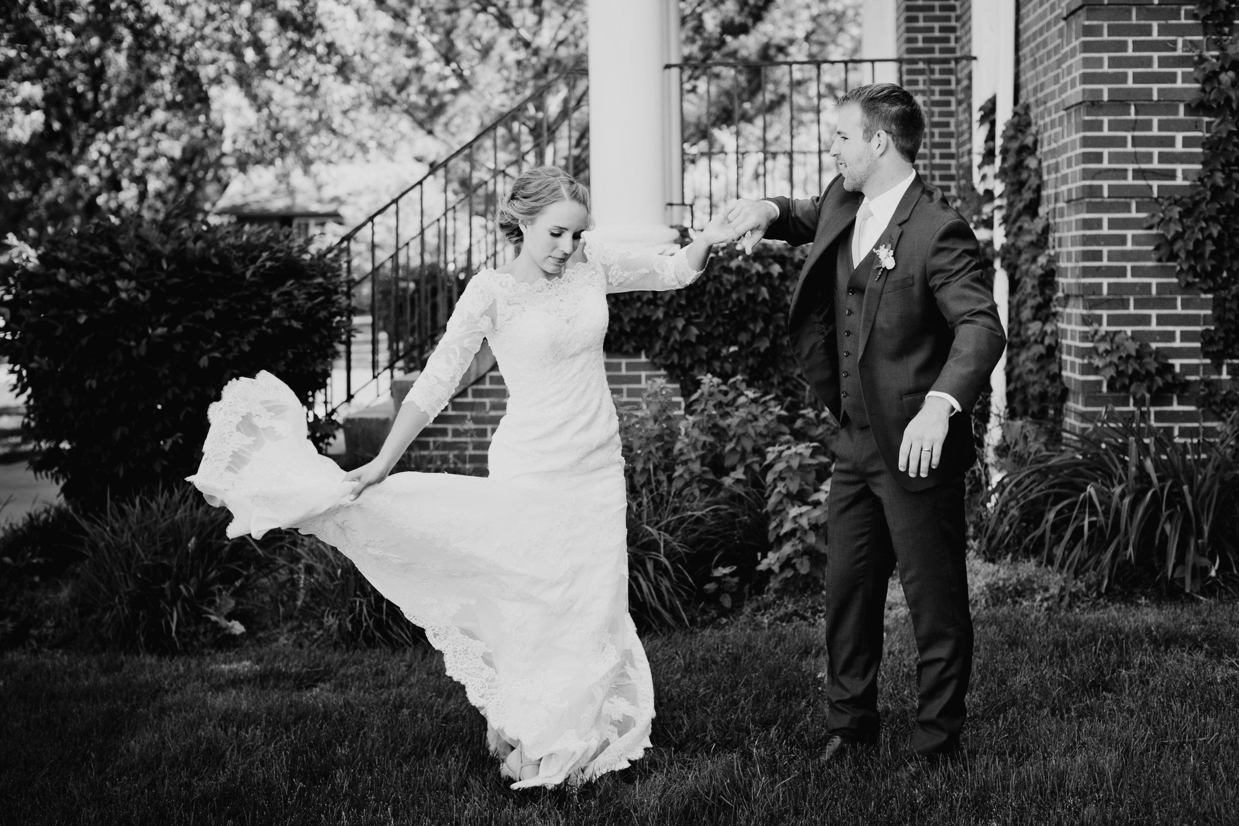 boys town omaha wedding photographers