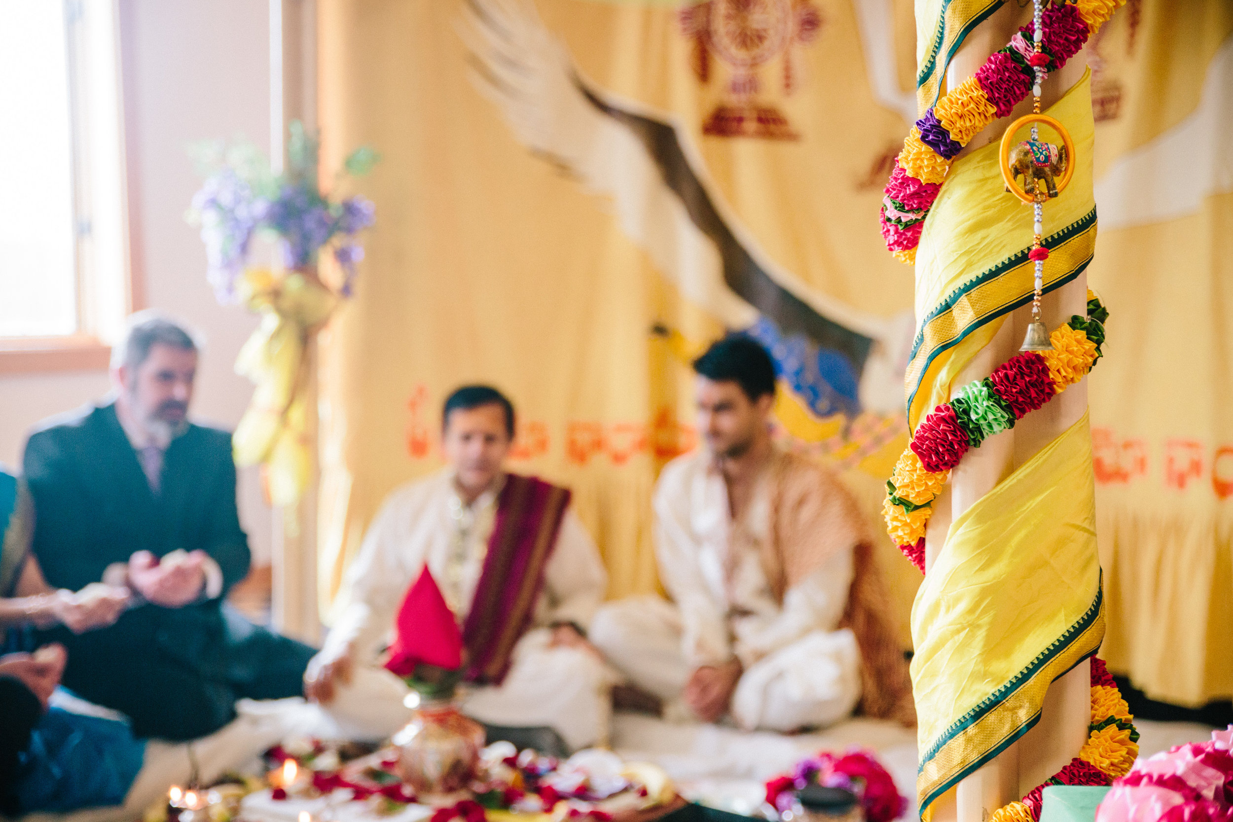 Hindu wedding ceremony between Nepal Groom and American Bride // Des Moines wedding photographers