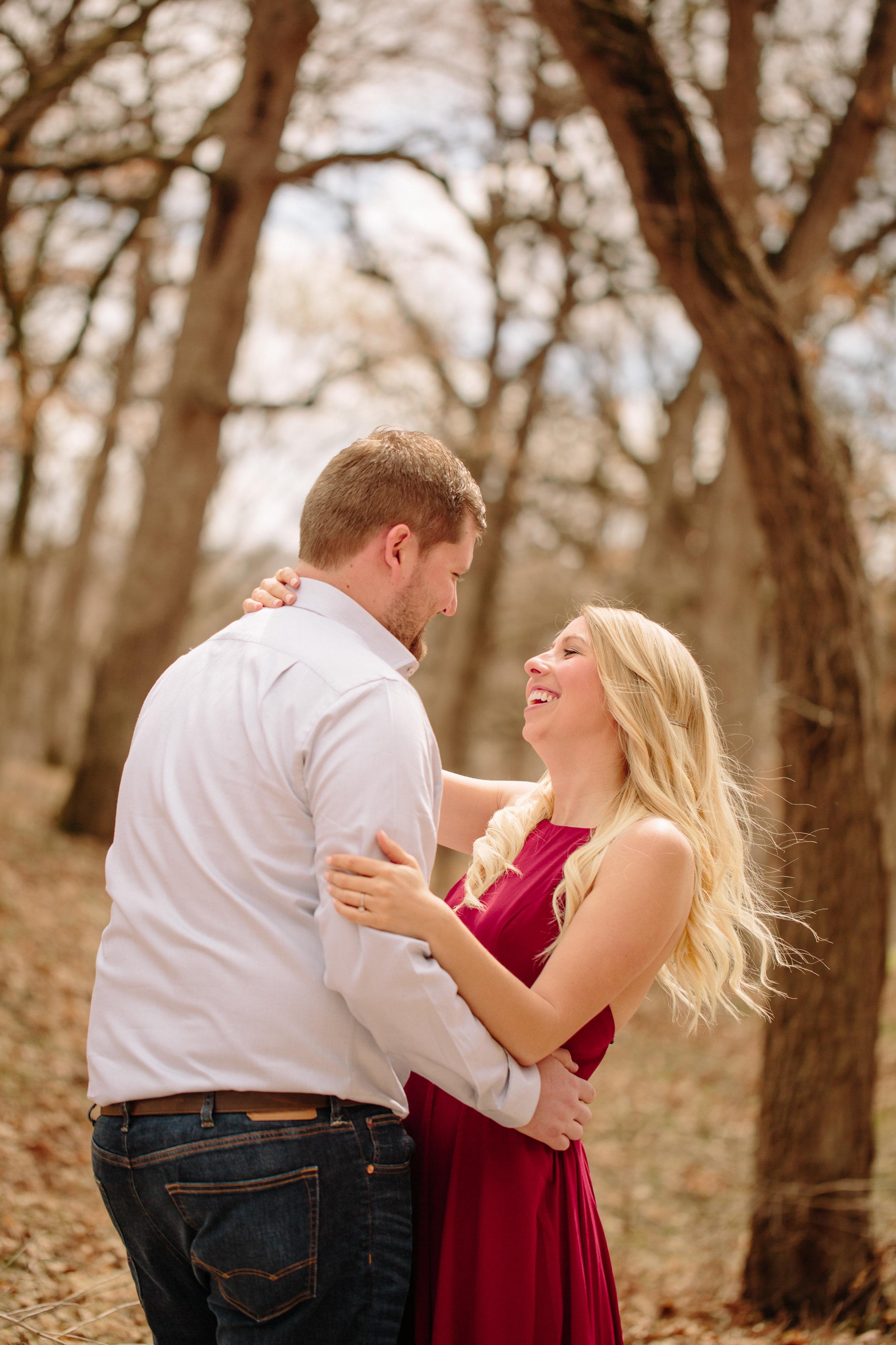 des moines spring wedding photography
