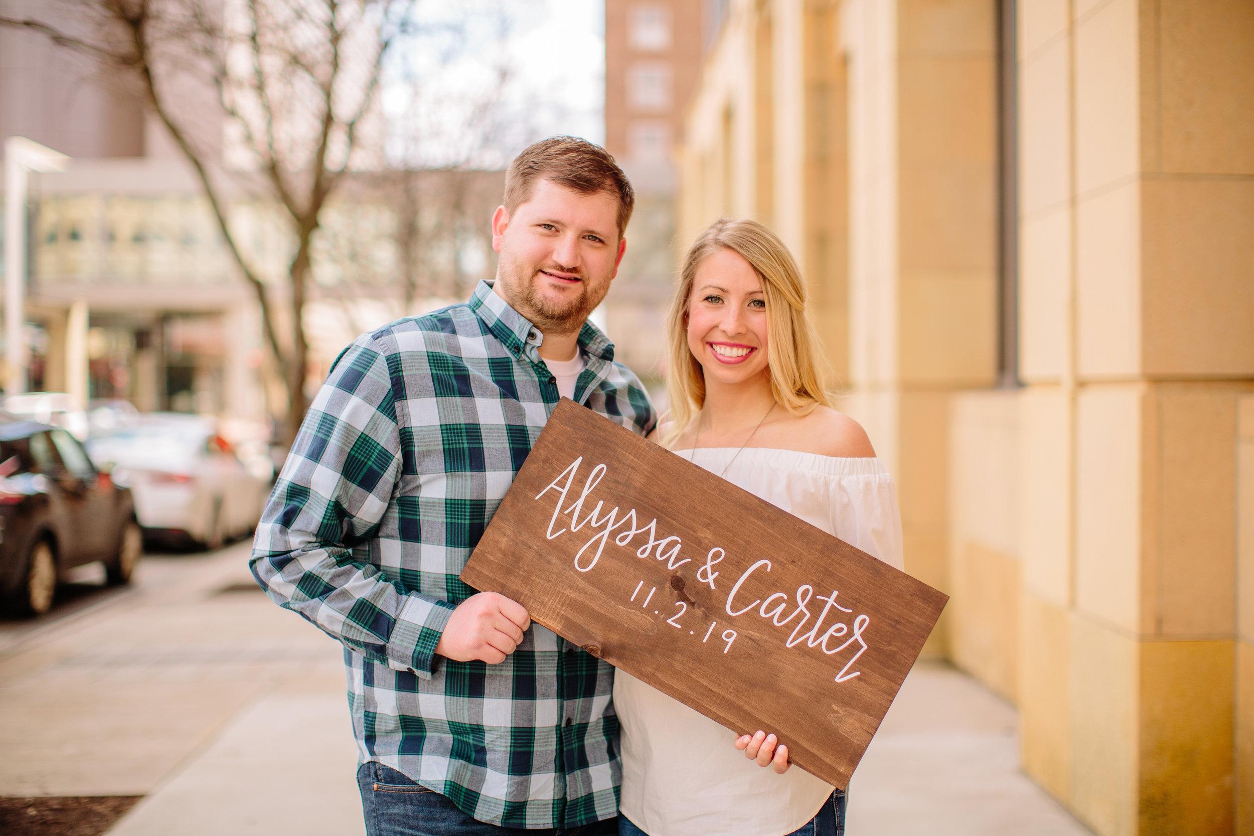 Nichole + Lucas | Des Moines Engagement Shoot | Iowa Wedding Photographer