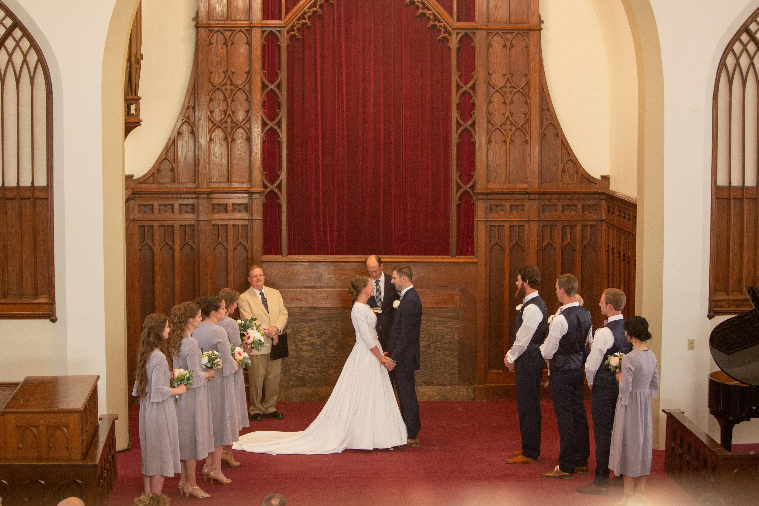 davenport church wedding photographers