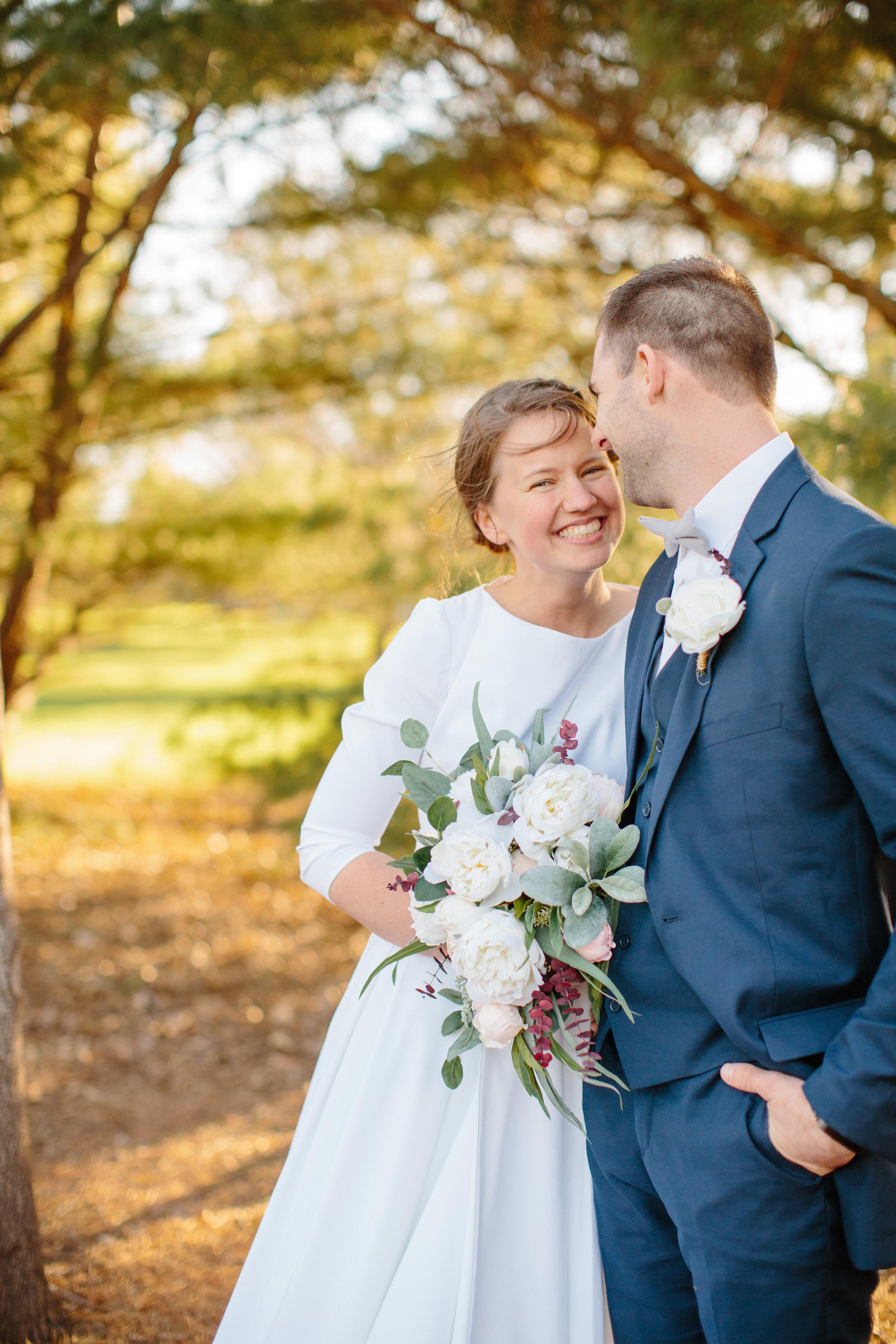 joyful happy romantic weddign photography Des Moines Iowa photography studios