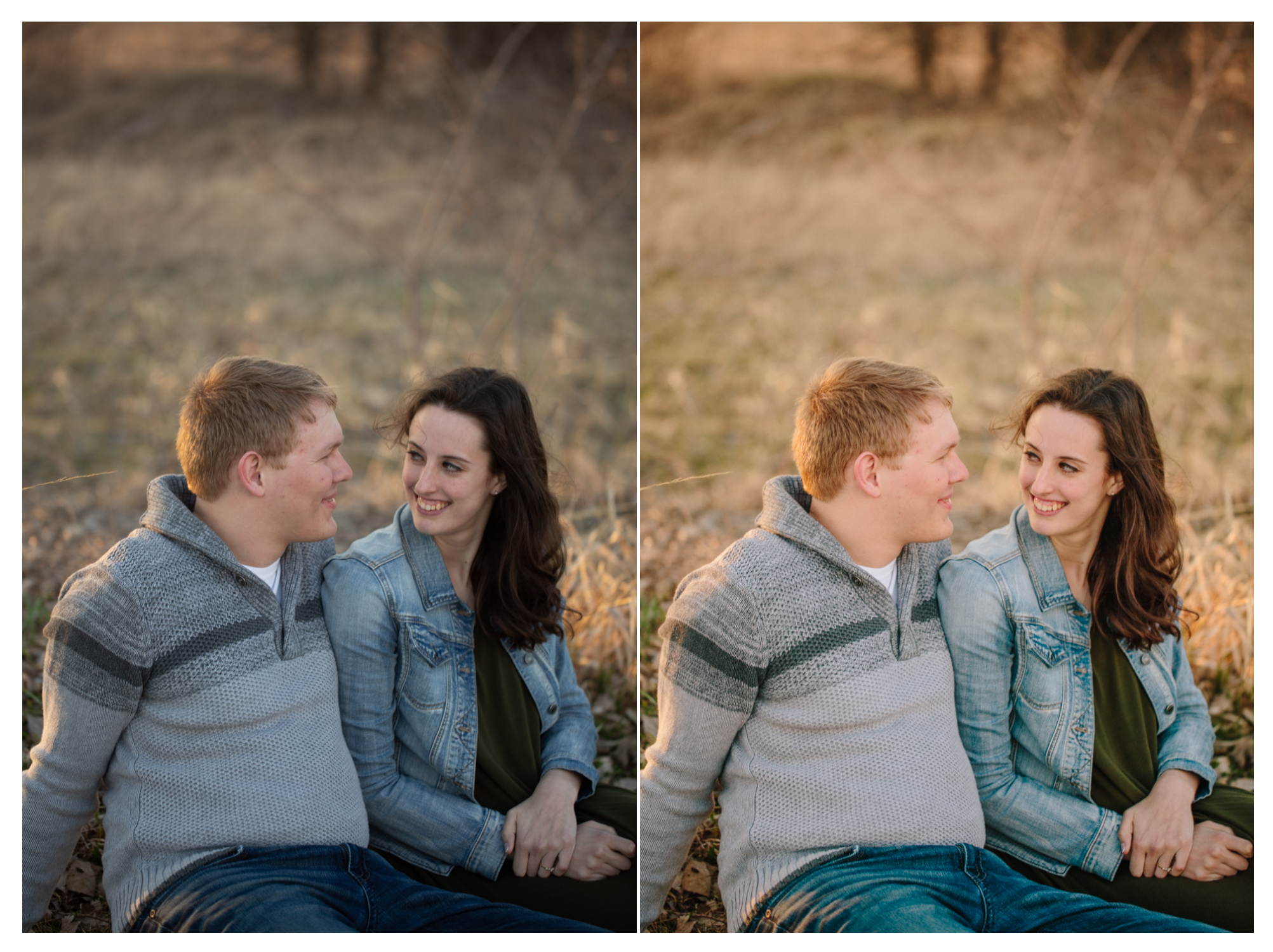 before and after photography edits