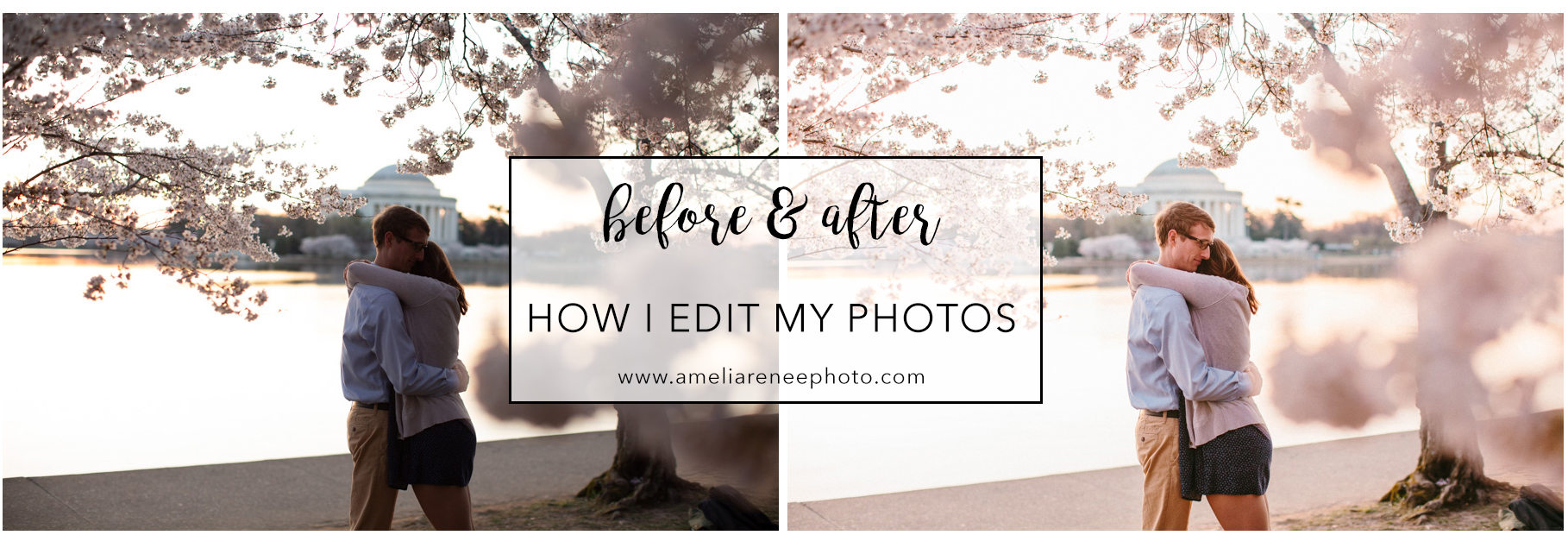 before and after how i edit my photos amelia renee photography des moines iowa