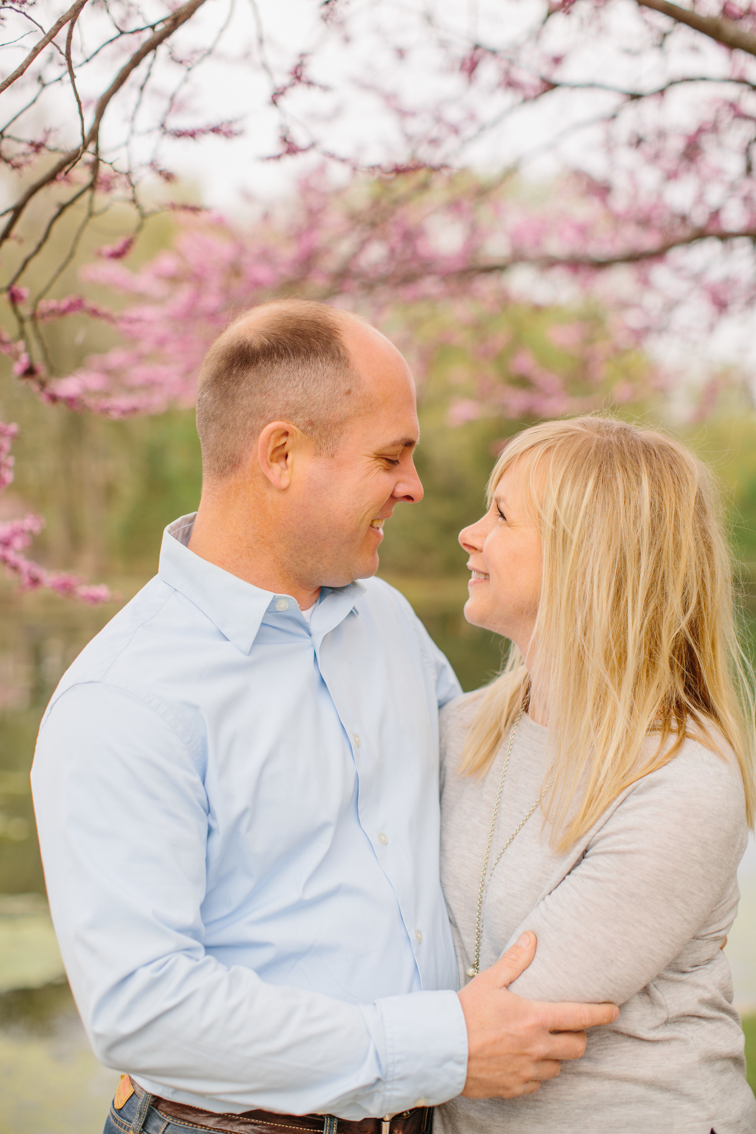Iowa State University spring wedding photography