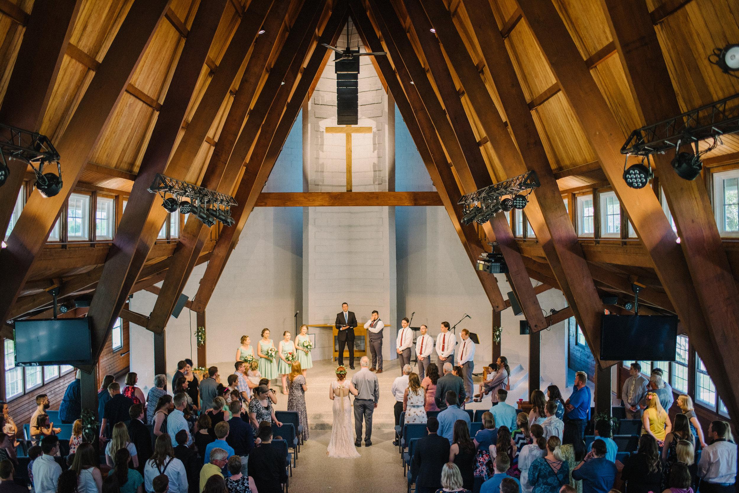 riverside bible camp wedding chapel
