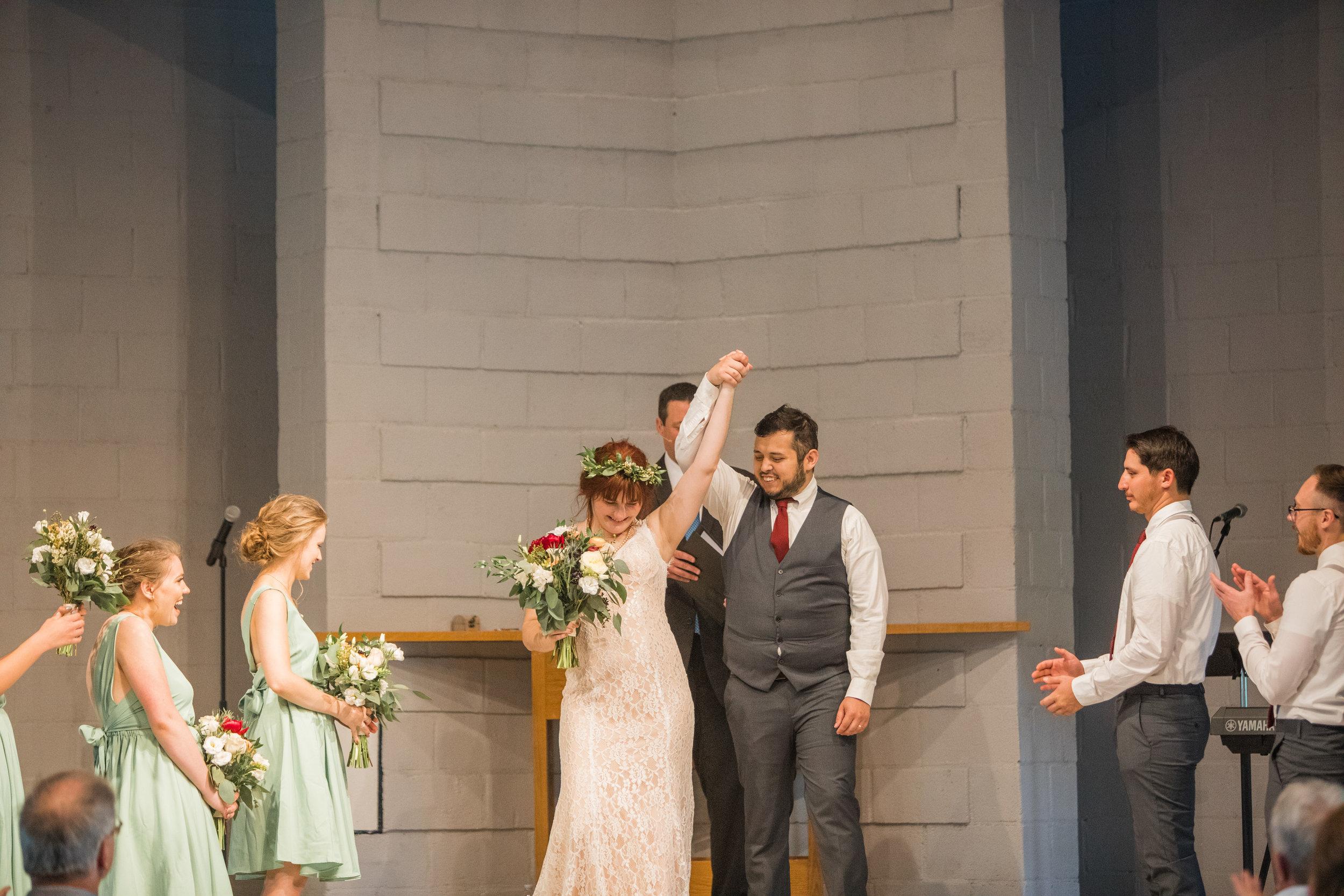 morganne and bobby wedding ceremony