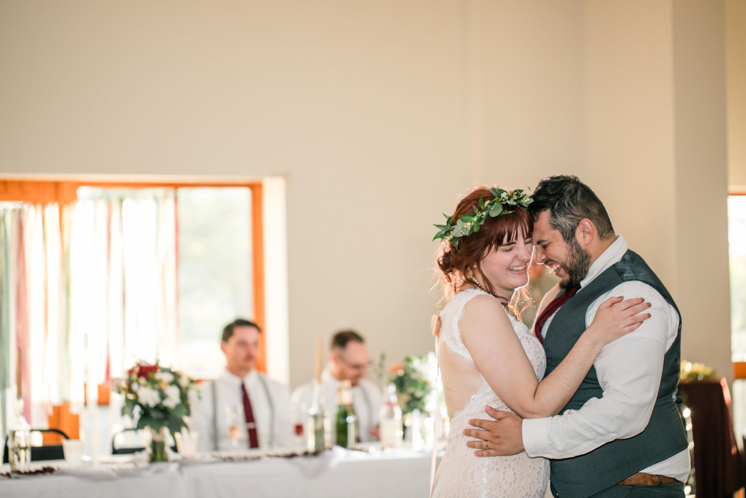 first dance riverside lutheran bible camp wedding photos