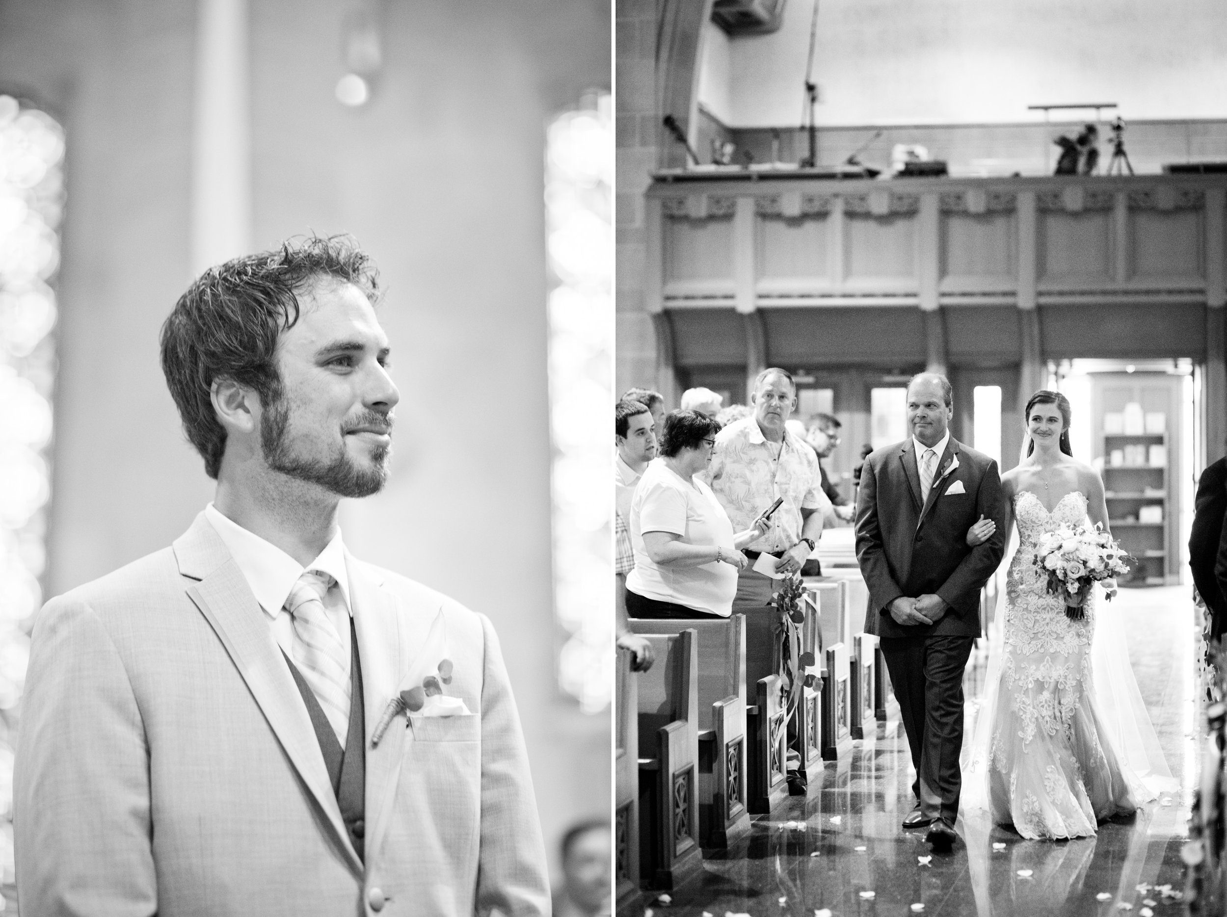blessed sacrament church in sioux city wedding