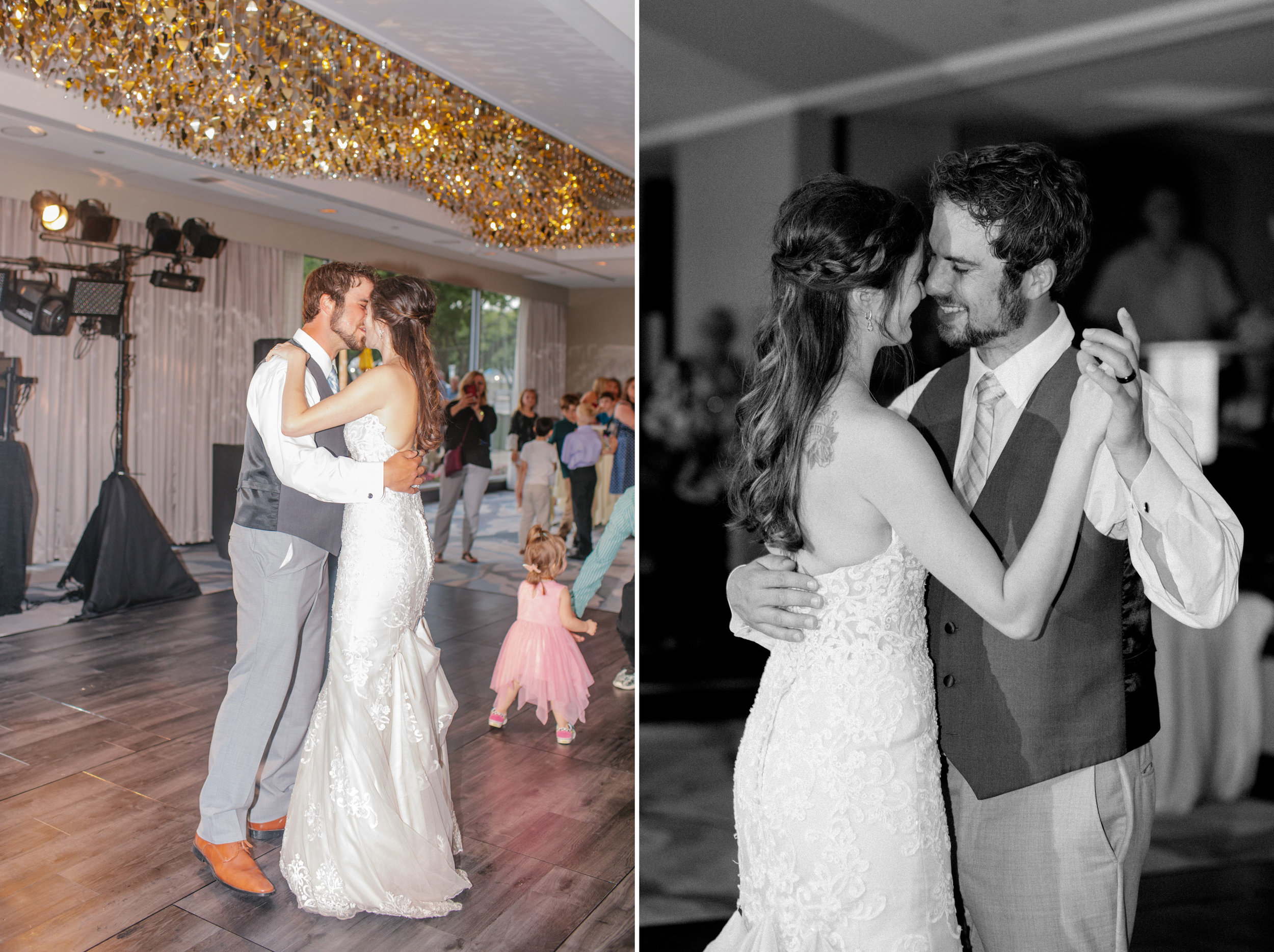 first dance to Tim McGraw love song at wedding in Iowa
