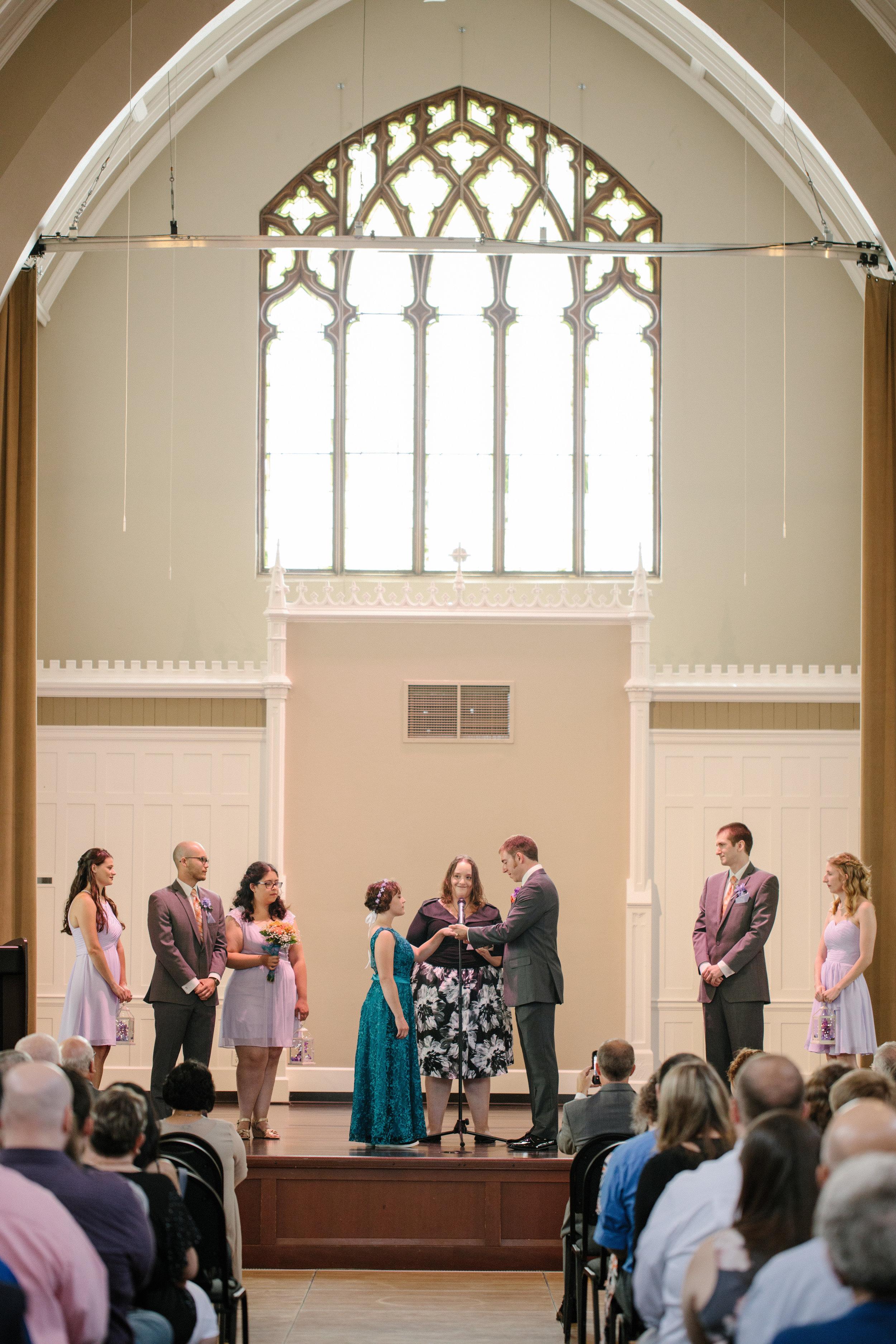 wedding ceremony in rosemount steeple center Minneapolis Minnesota wedding venues