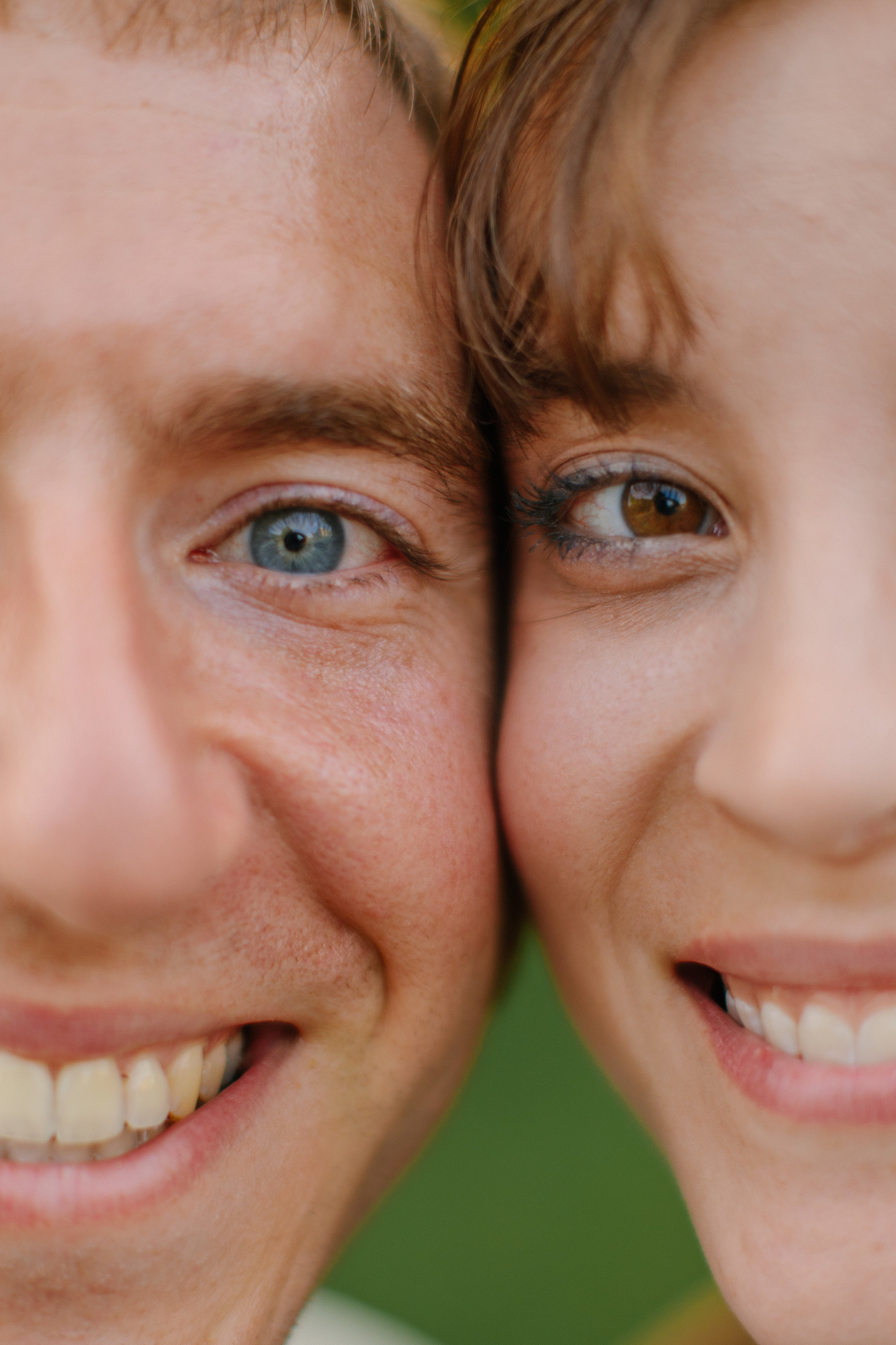 eyes of wedding couple bride groom minnesota minneapolis wedding photographers affordable