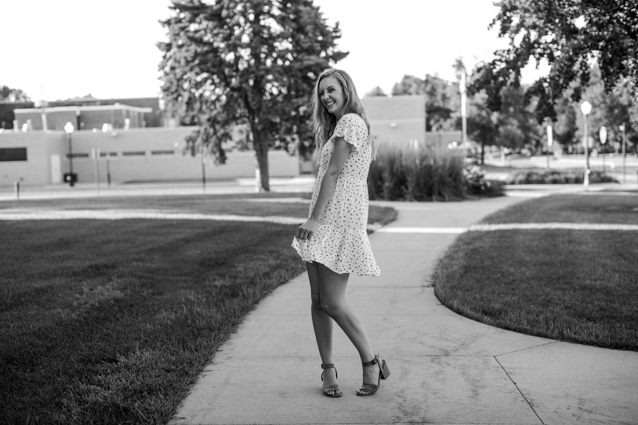 twirling fun senior pictures ames iowa