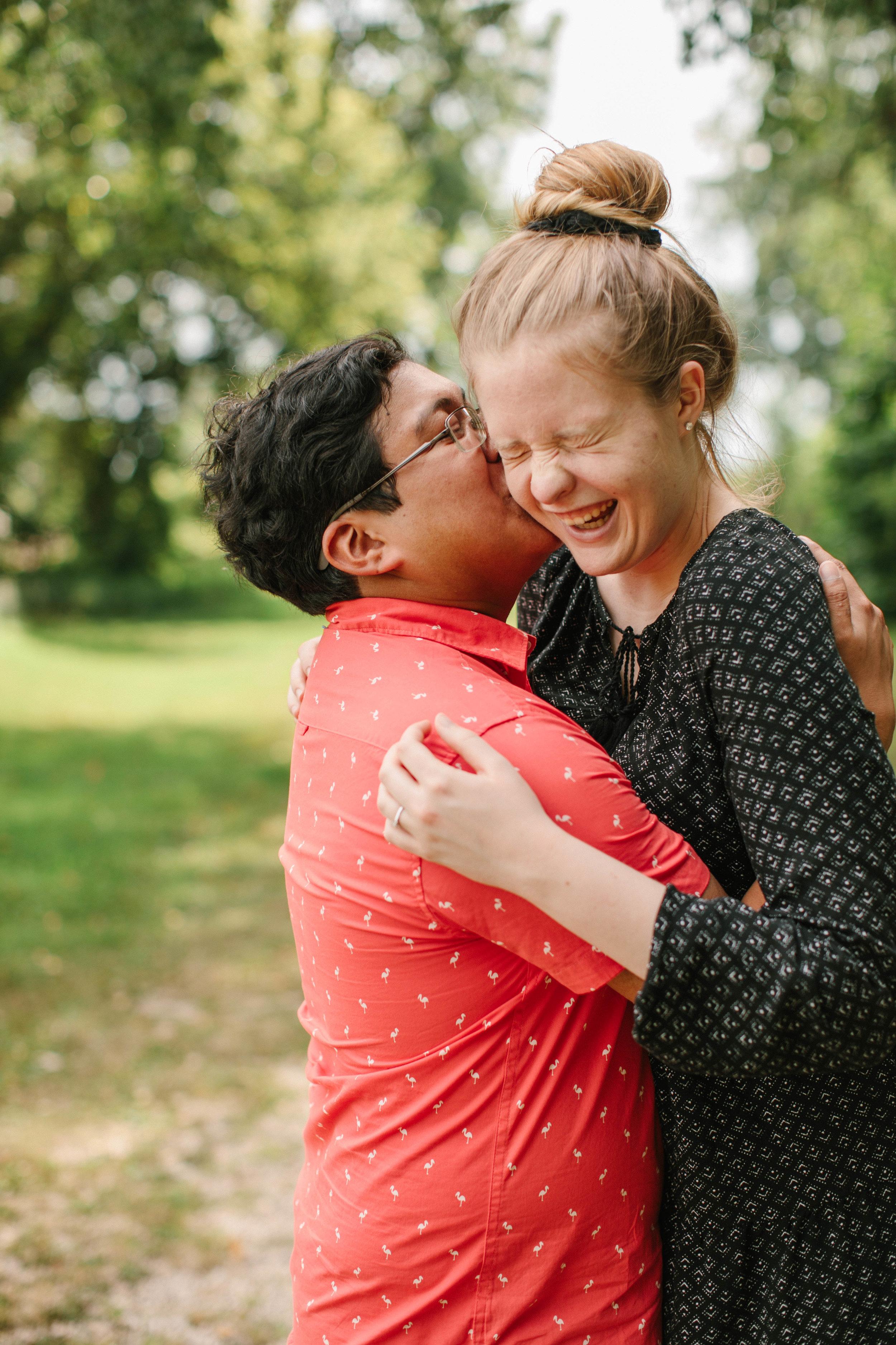 cedar falls iowa engagement wedding photographers under $3000