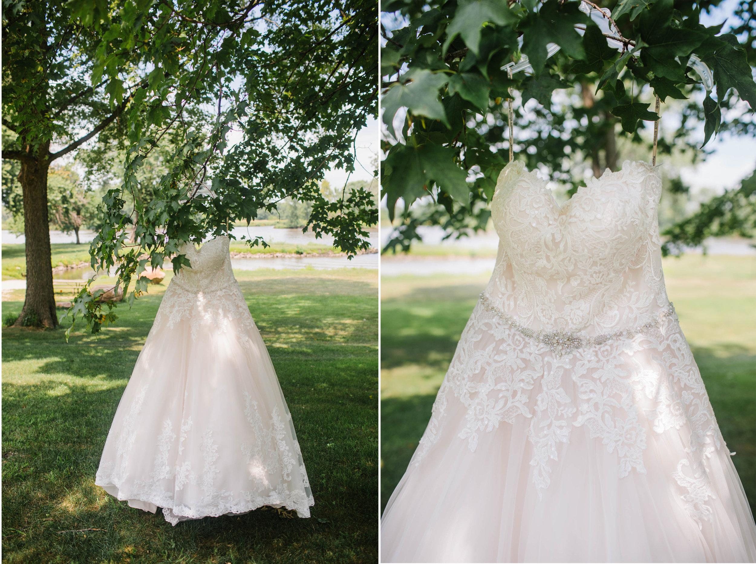 cedar falls wedding dress