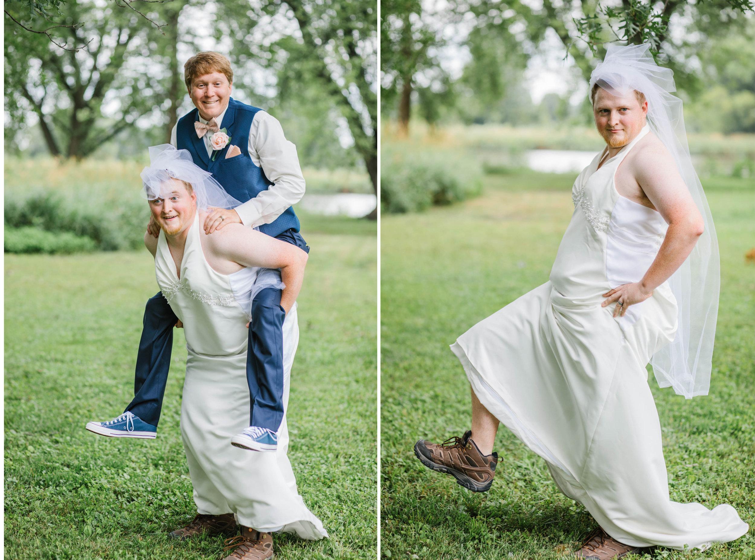 prank first look ideas iowa wedding phtoographer amelia renee