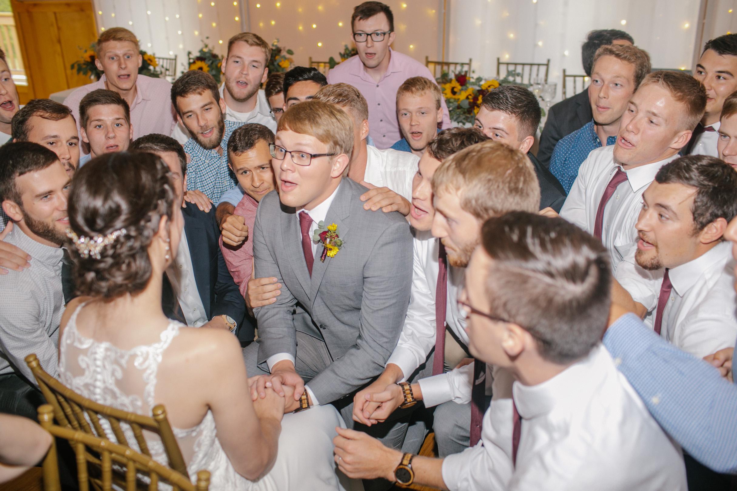 farmhouse wedding traditions iowa state university