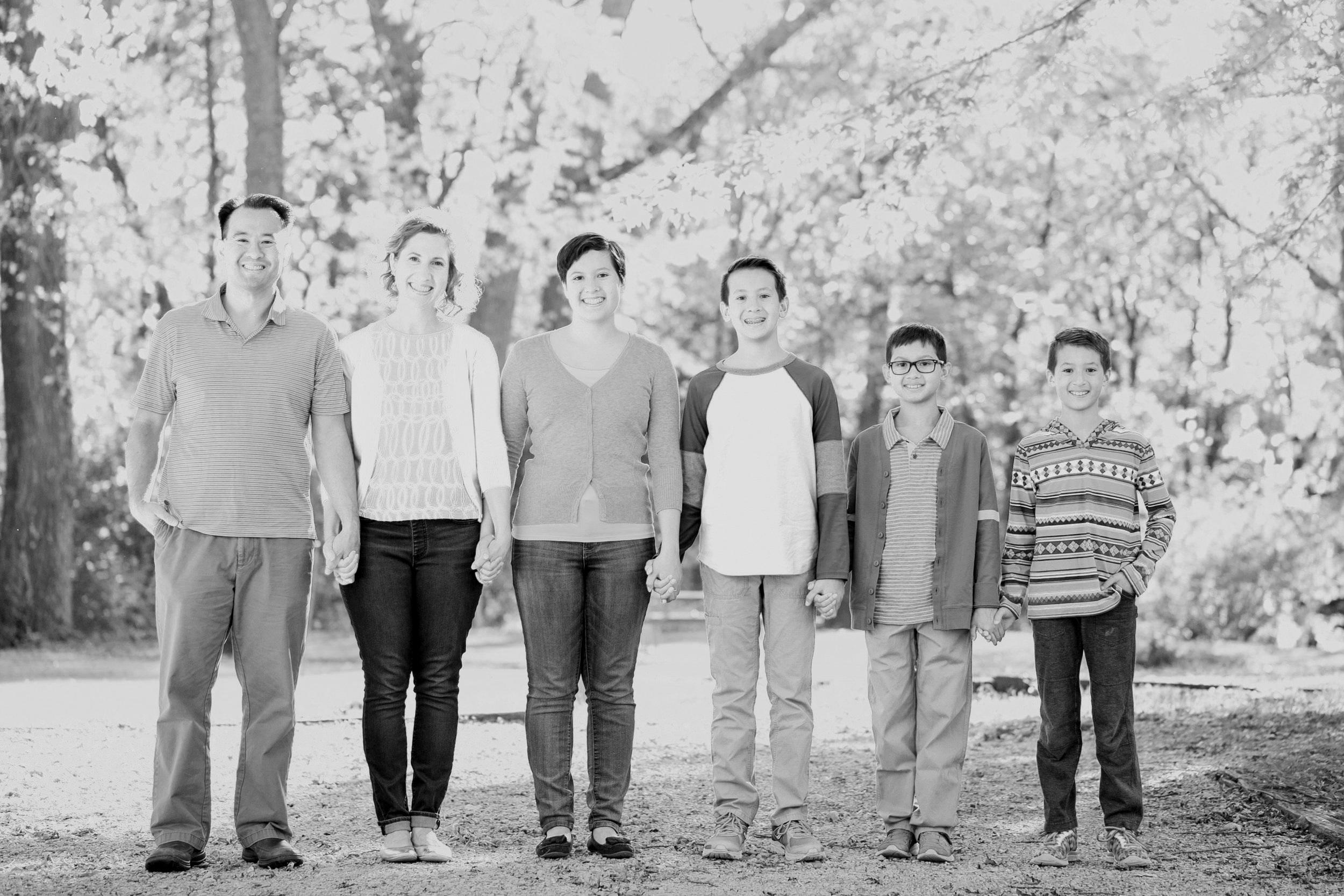 ankeny family Iowa fall mini session photos