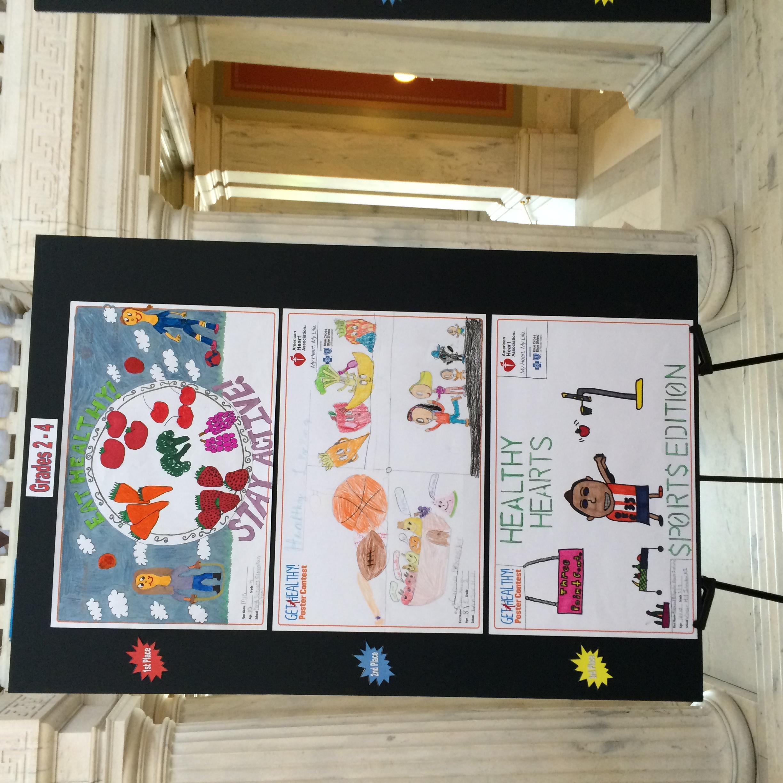 AHA Heart Healthy Poster Winners