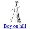Boy on Hill