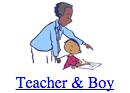 Teacher & Boy