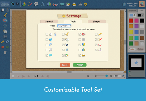Copy of Customizable Tool Set