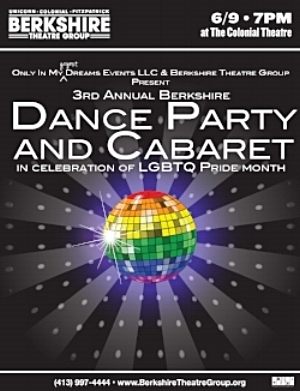 DANCE PARTY AND CABARET at     COLONIAL THEATRE, PITTSFIELD     JUNE 9, 2018