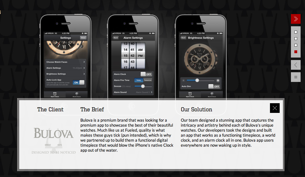 App Case Study | Bulova by Fueled