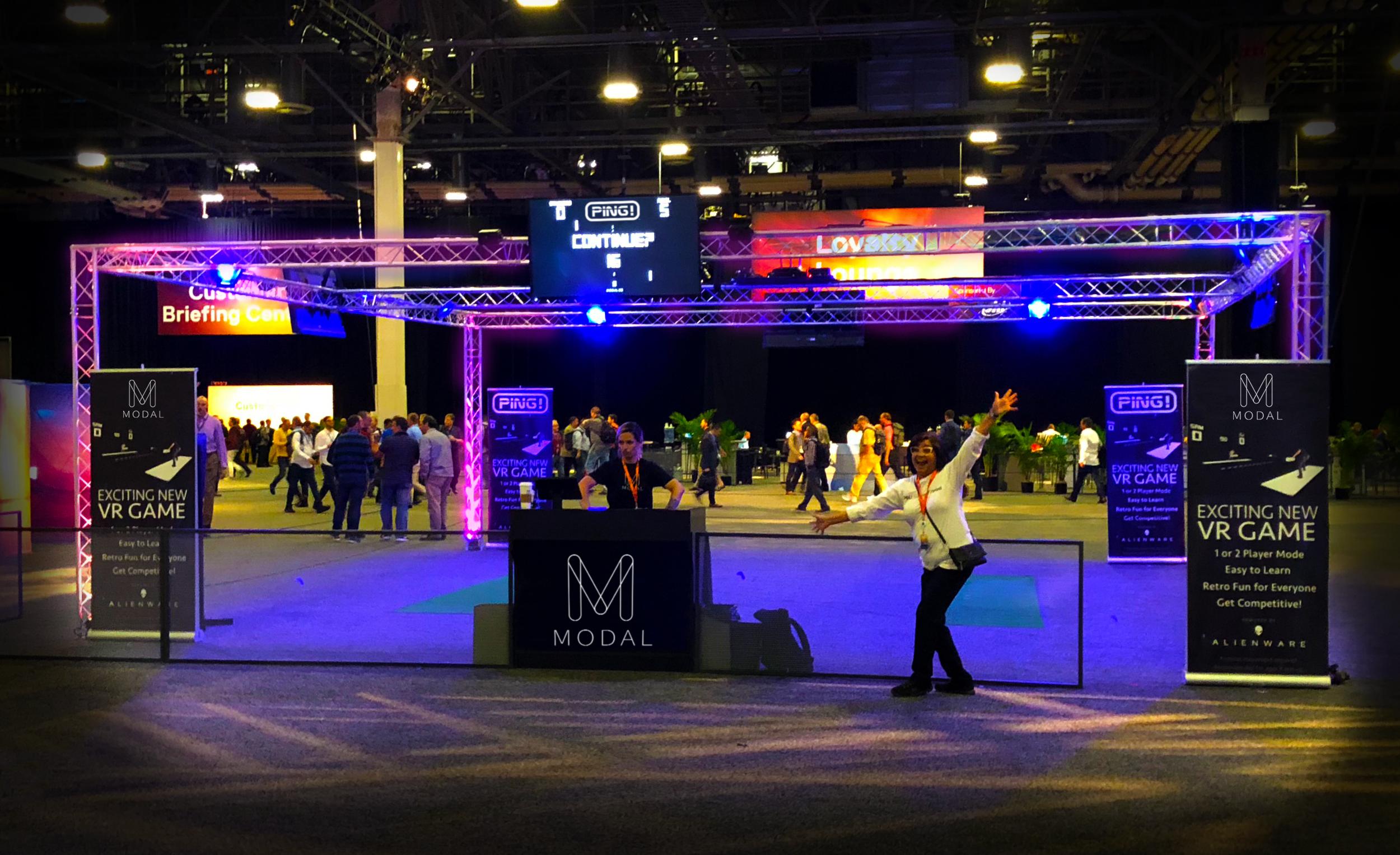 Modal at Dell Tech Expo 2018